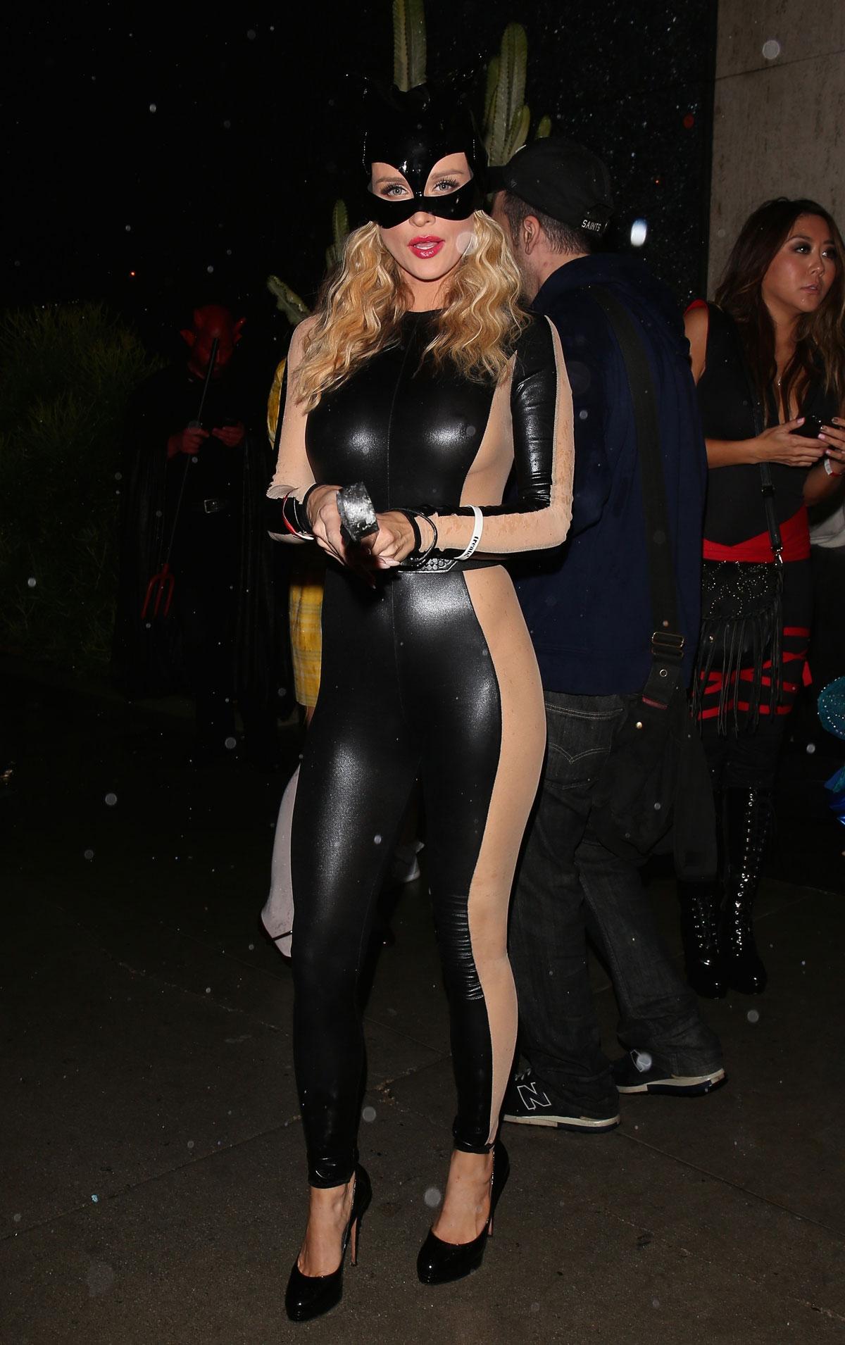 Joanna Krupa attends Halloween Party