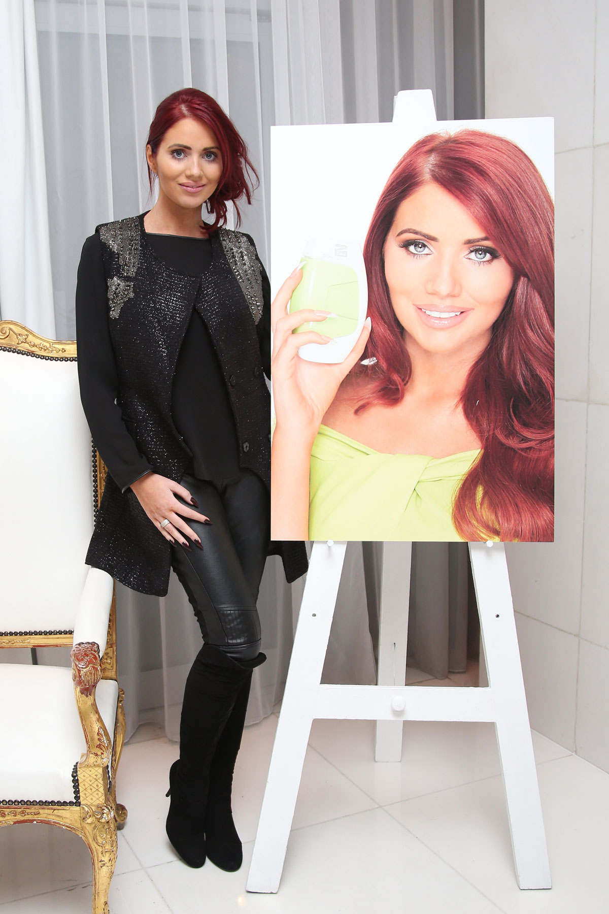Amy Childs attends Silk'n Blogger Party