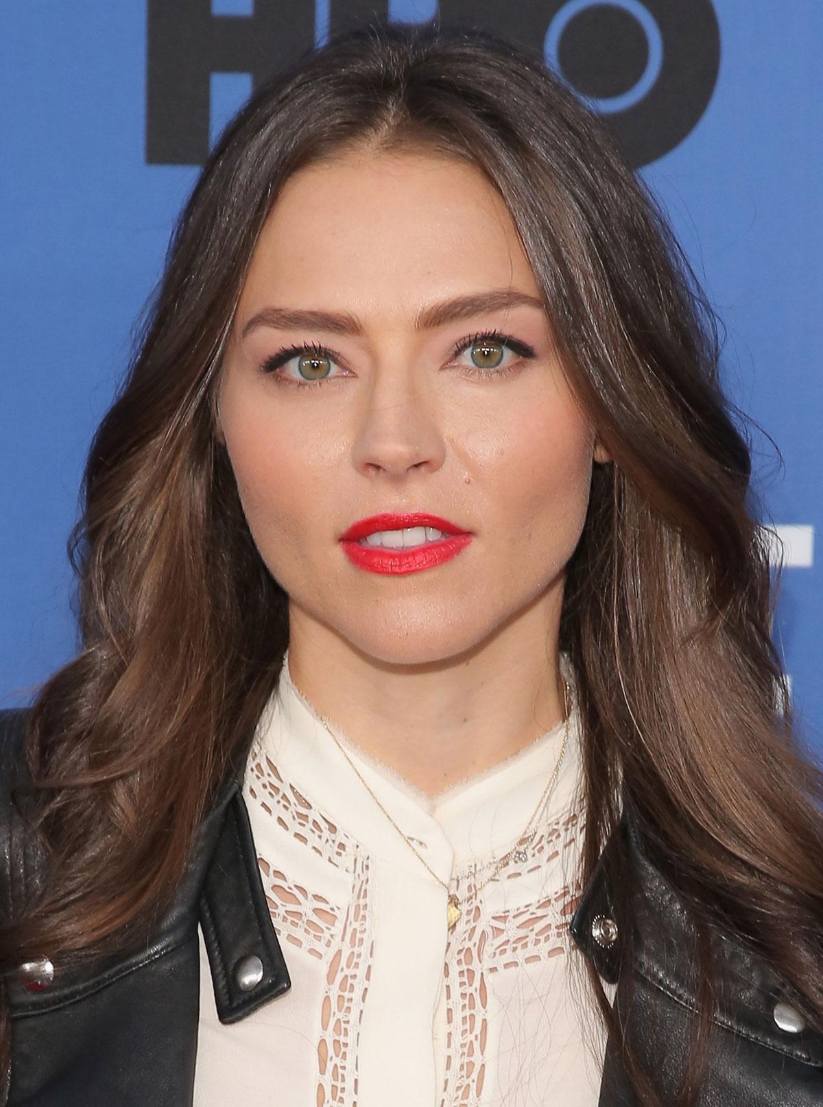 Trieste Kelly Dunn attends Olive Kitteridge New York Premiere
