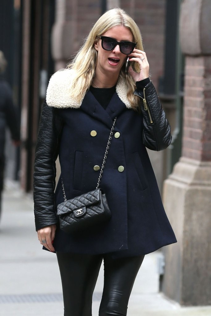 Nicky Hilton was spotted in New York City