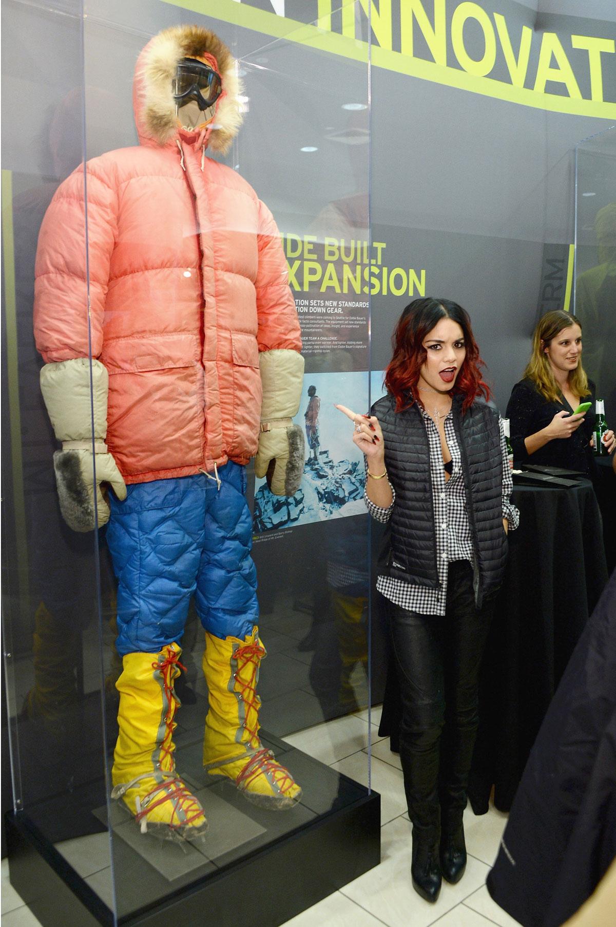 Vanessa Hudgens at Eddie Bauer Store Opening