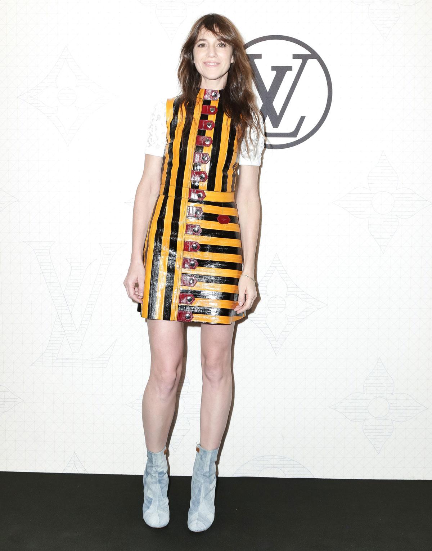 Charlotte Gainsbourg at Louis Vuitton Monogram celebration