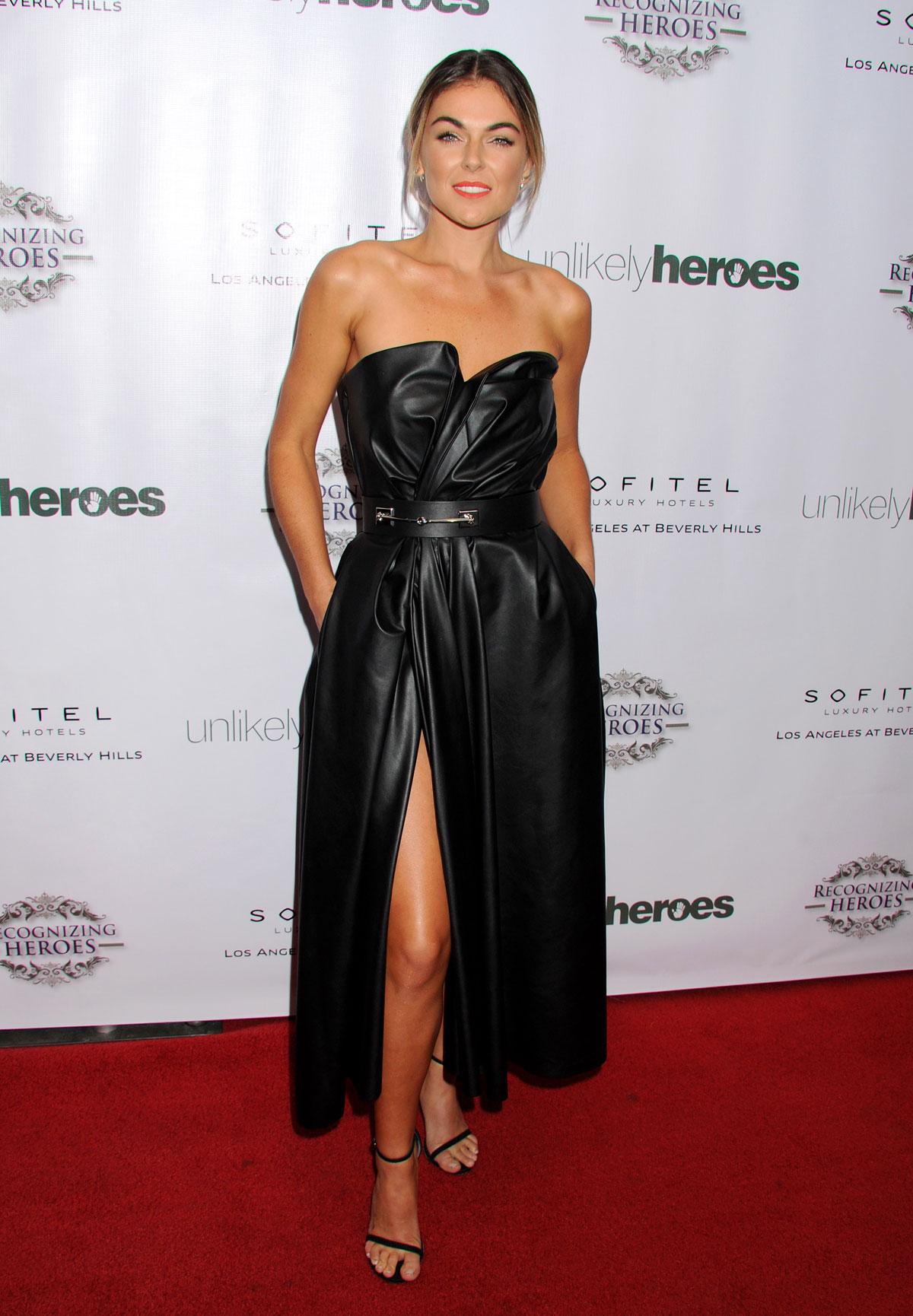 Serinda Swan at 3rd Annual Unlikely Heroes Awards Dinner