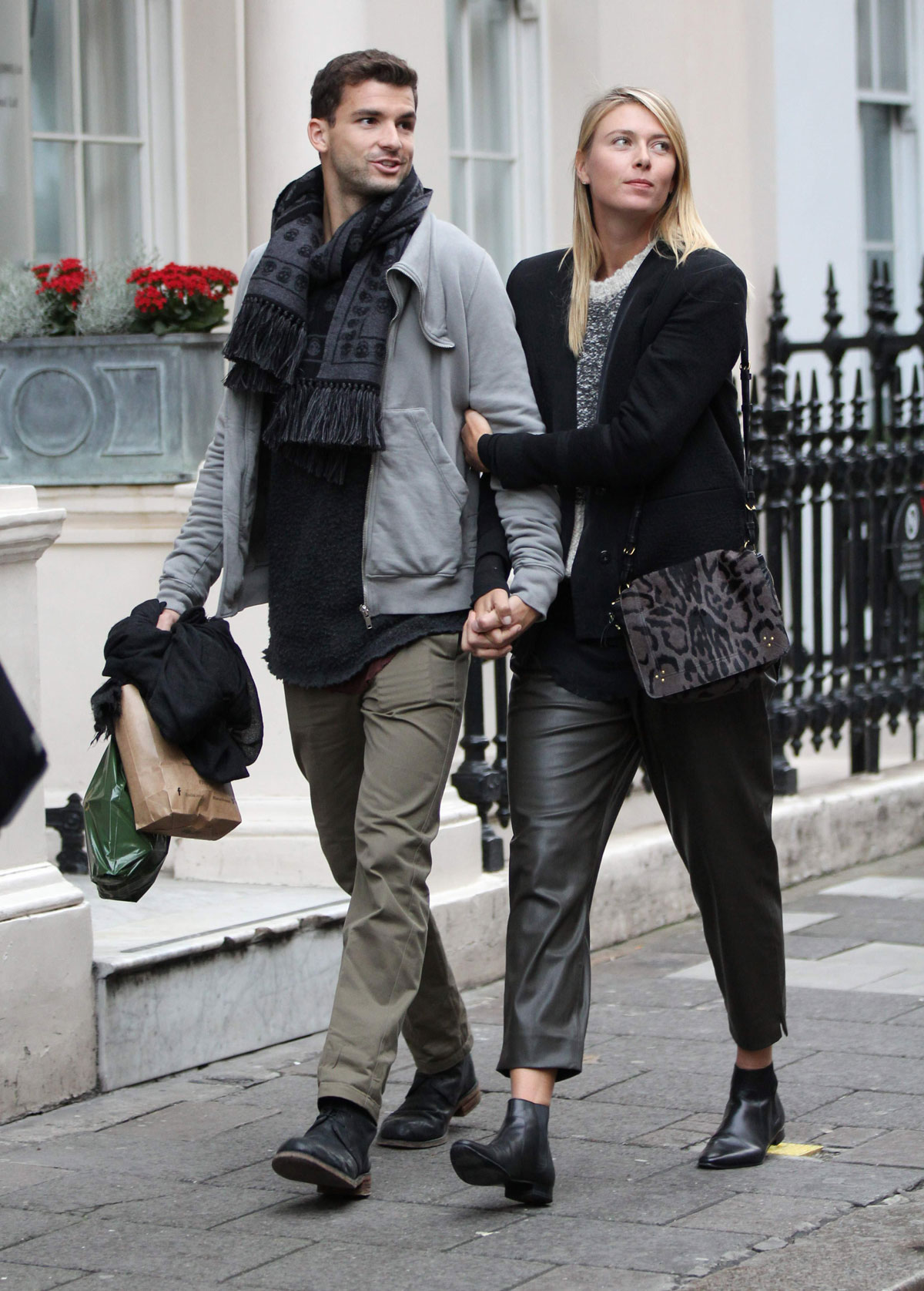 Maria Sharapova shopping at Dover Street Market