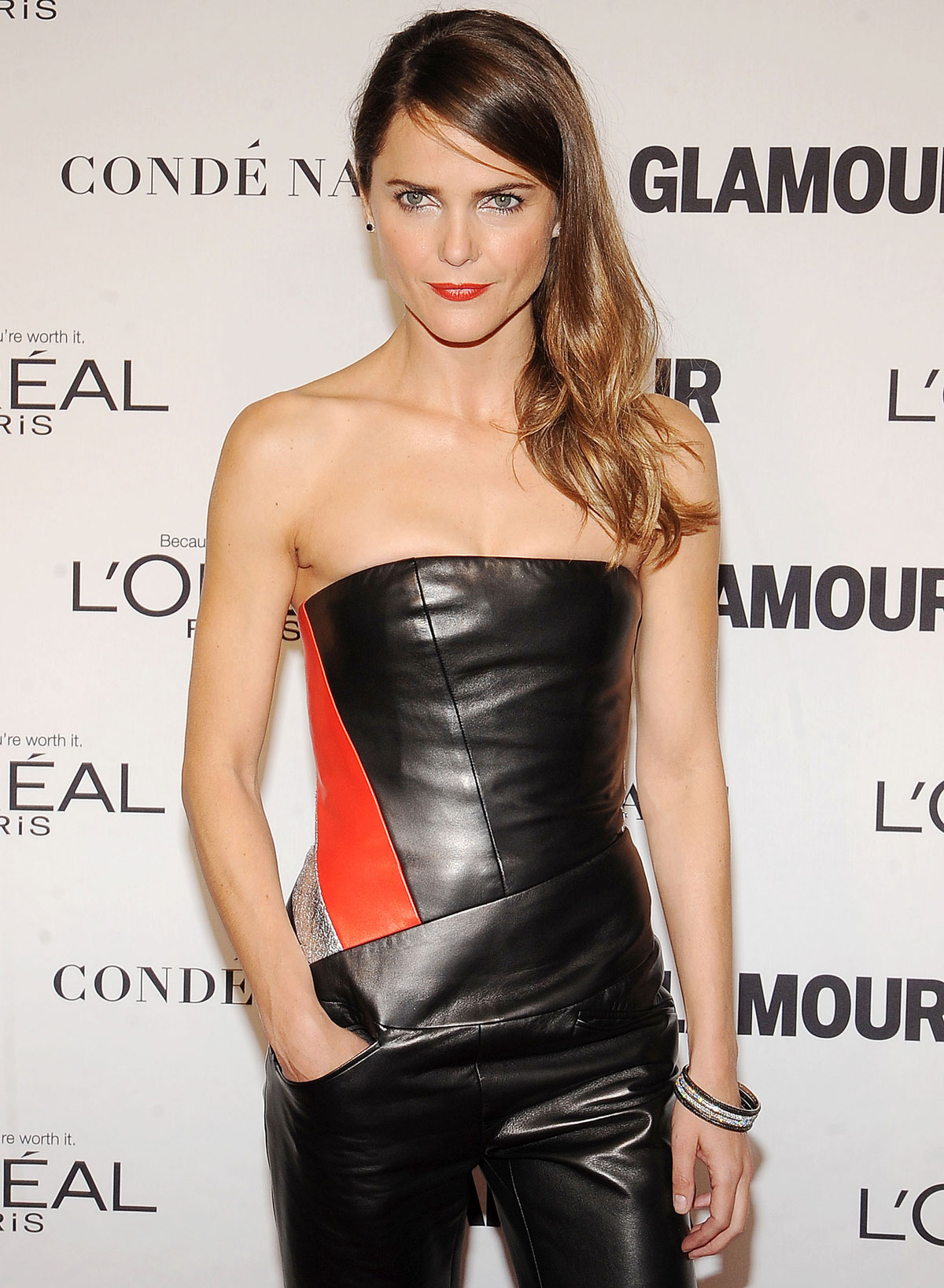 Keri Russell atteds 2014 Glamour Women Of The Year Awards