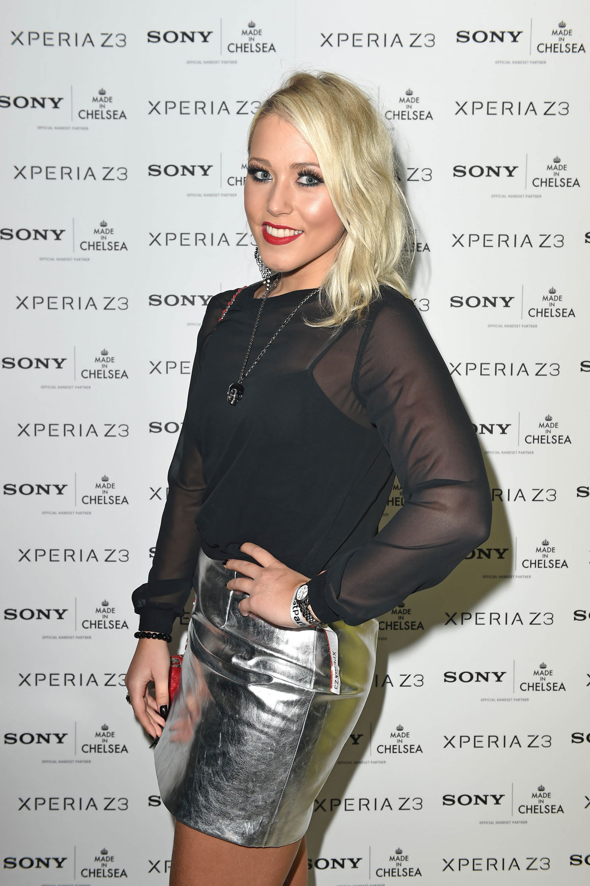 Amelia Lily attends Sony pool party at the Haymarket Hotel