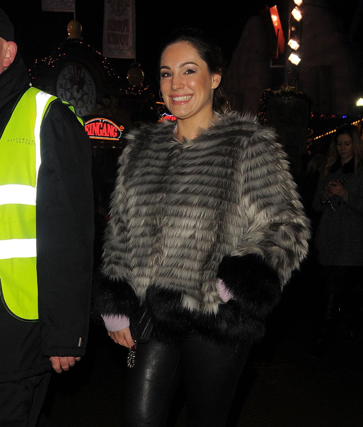 Kelly Brook attends Winter Wonderland 2014