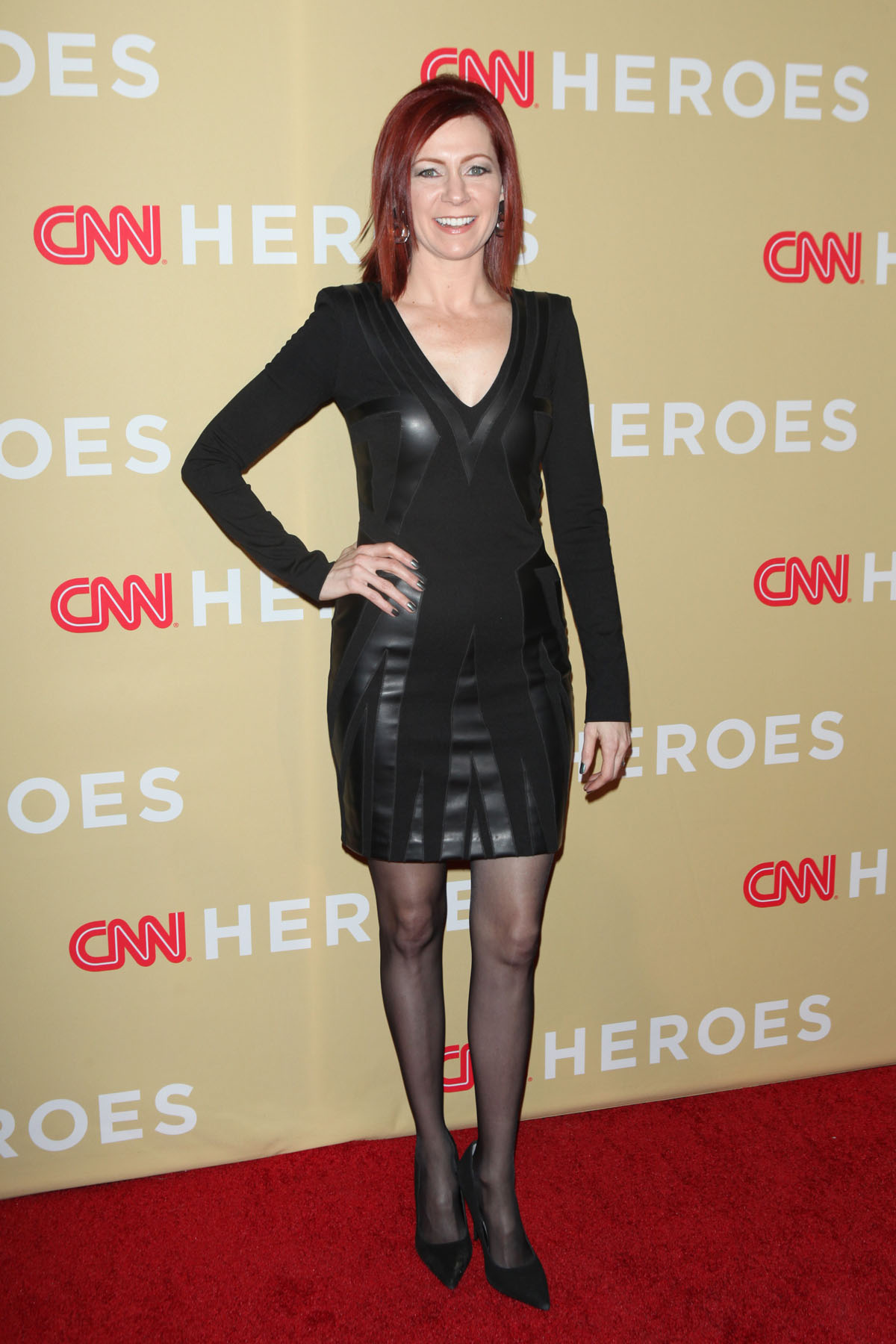 Carrie Preston attends CNN Heroes: An All-Star Tribute