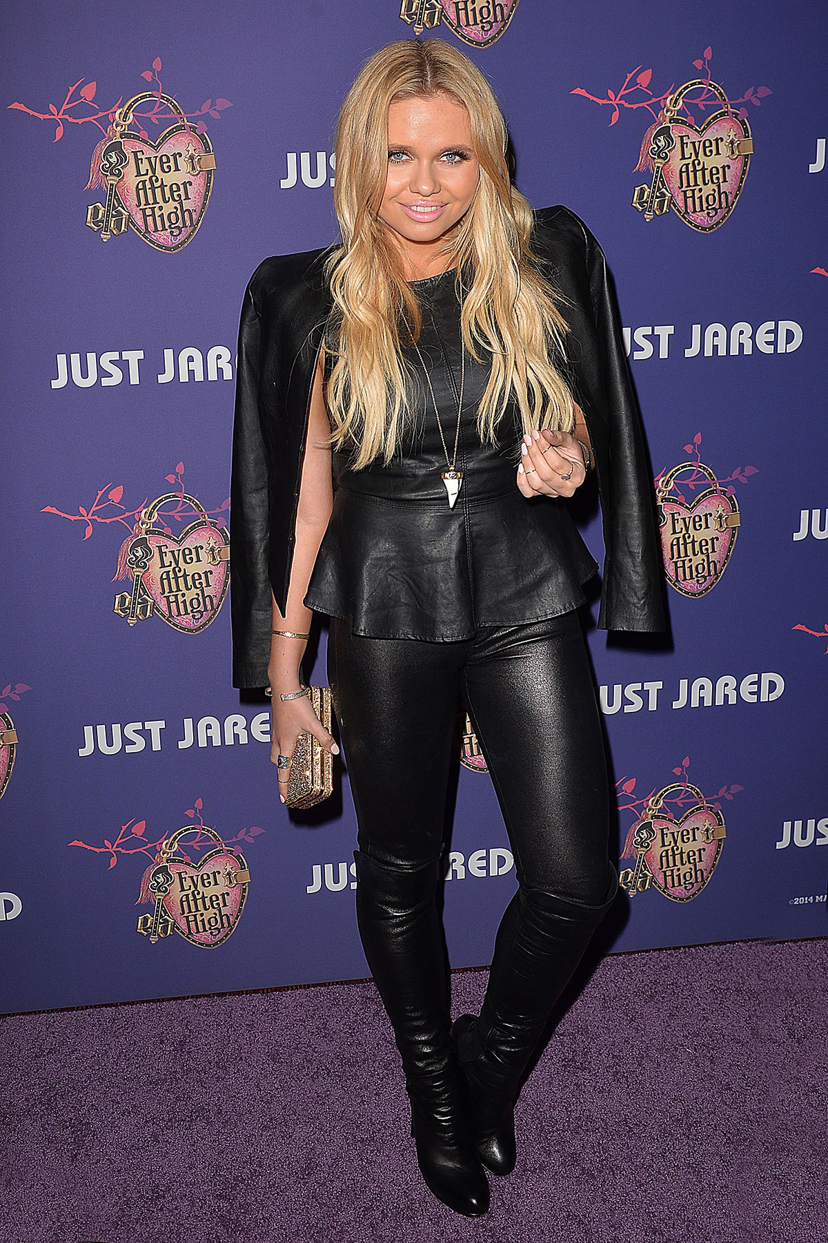 Alli Simpson at Just Jared's Homecoming Dance