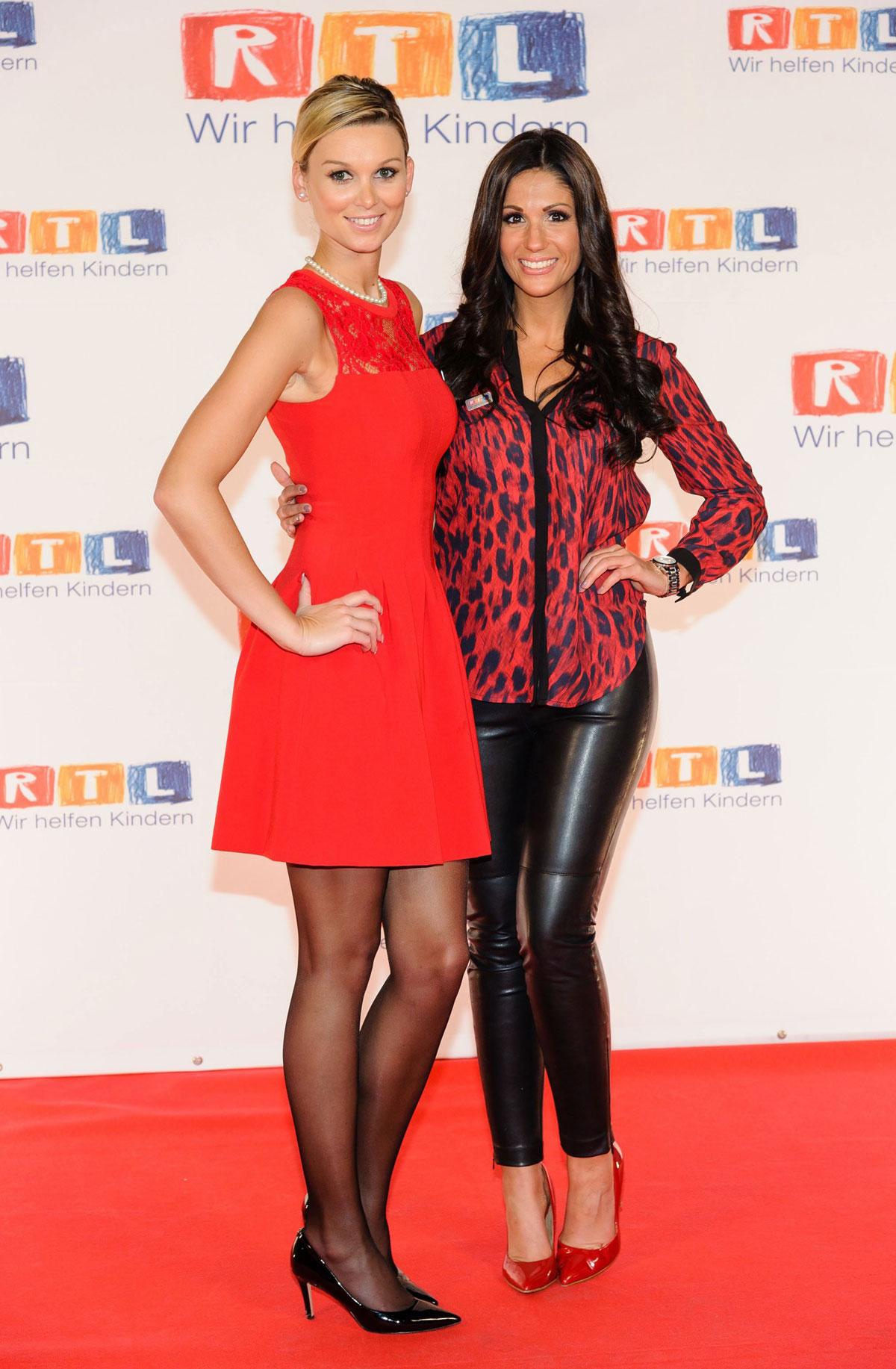 Anja Polzer attends RTL Spendenmarathon