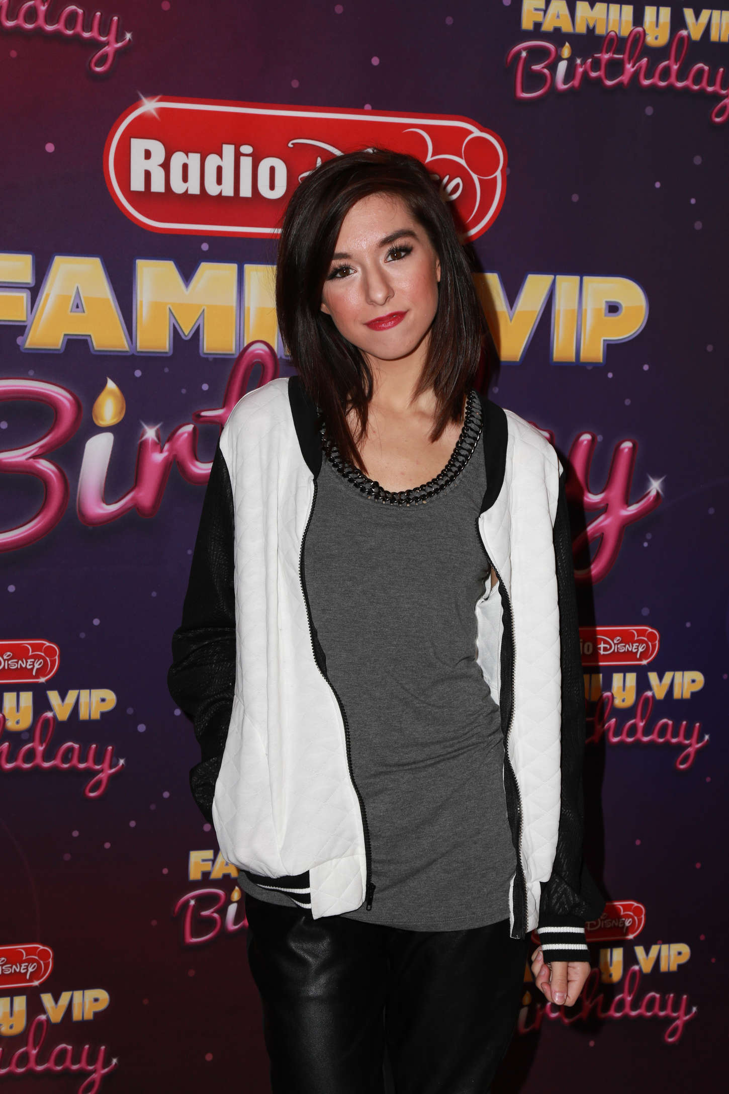 Christina Grimmie attends Radio Disney's Family VIP Birthday