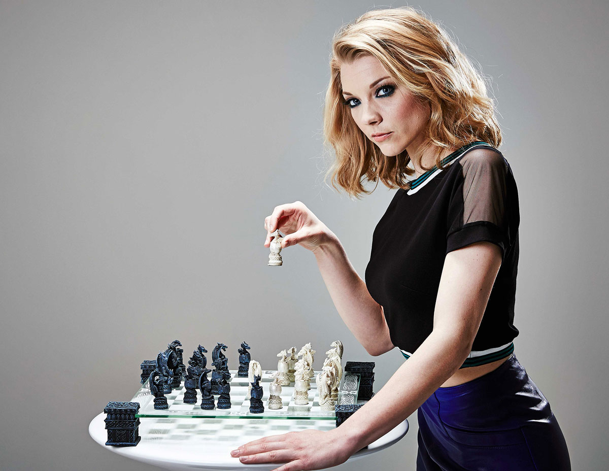 Natalie Dormer - Richard Grassie photoshoot for Radio Times