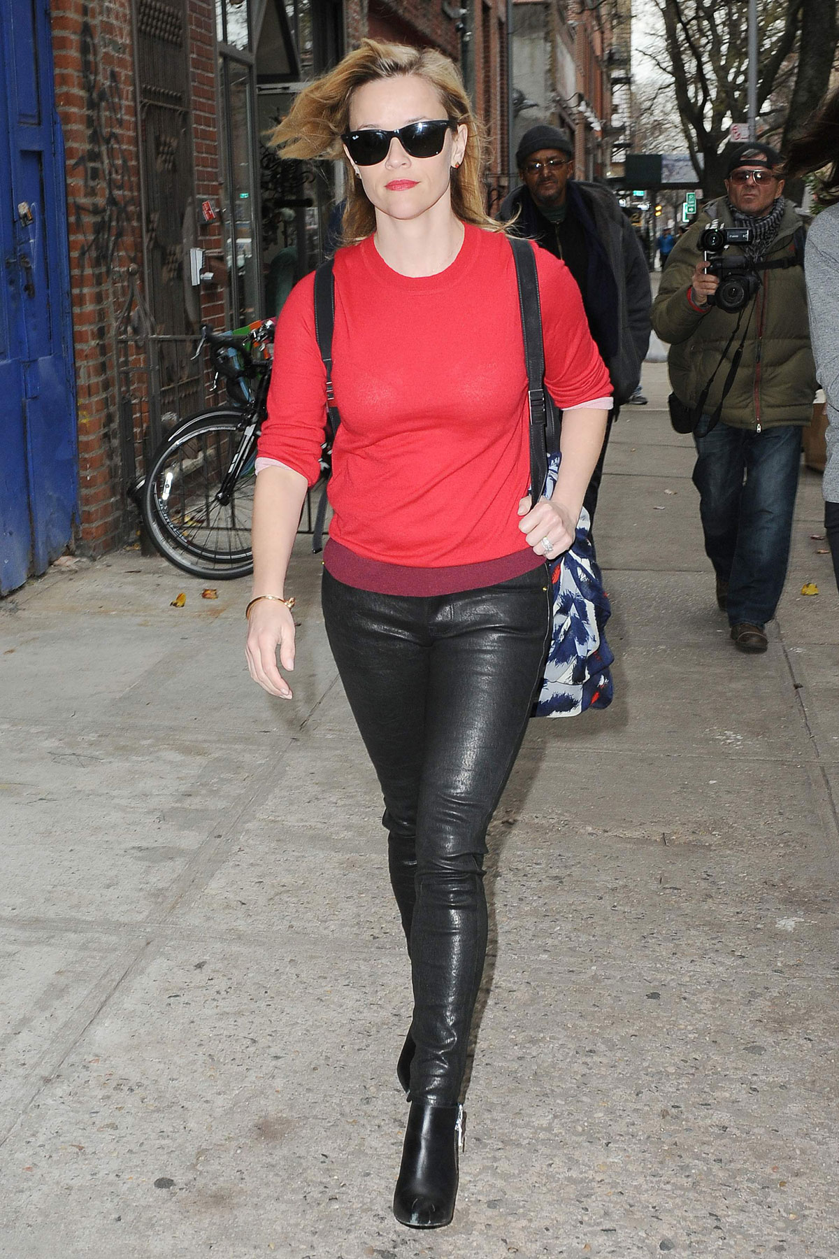 Reese Witherspoon is seen in New York City