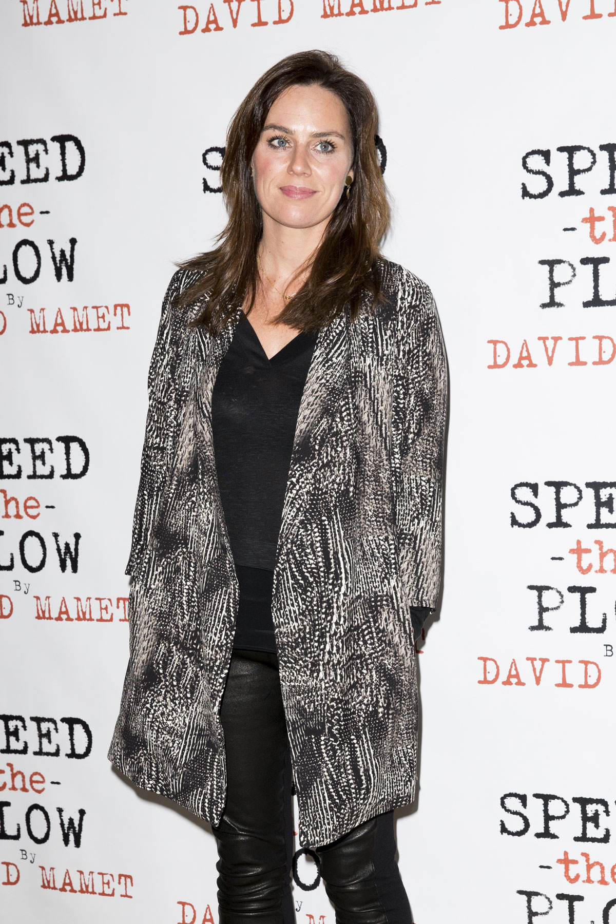 Jill Halfpenny attends Speed the Plow after party