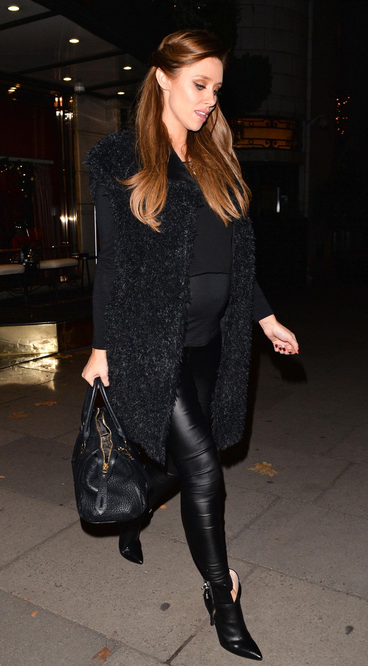 Una Healy leaving hotel in London