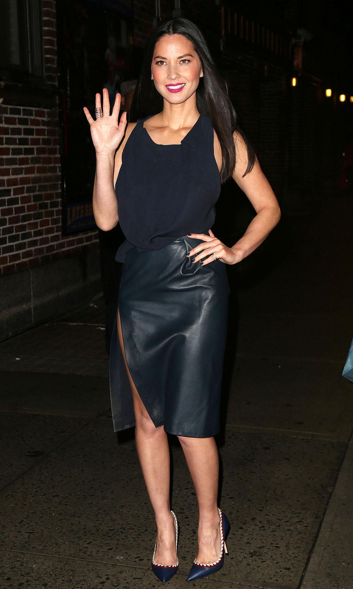 Olivia Munn attends Spike TV Guy Choice Awards 2014