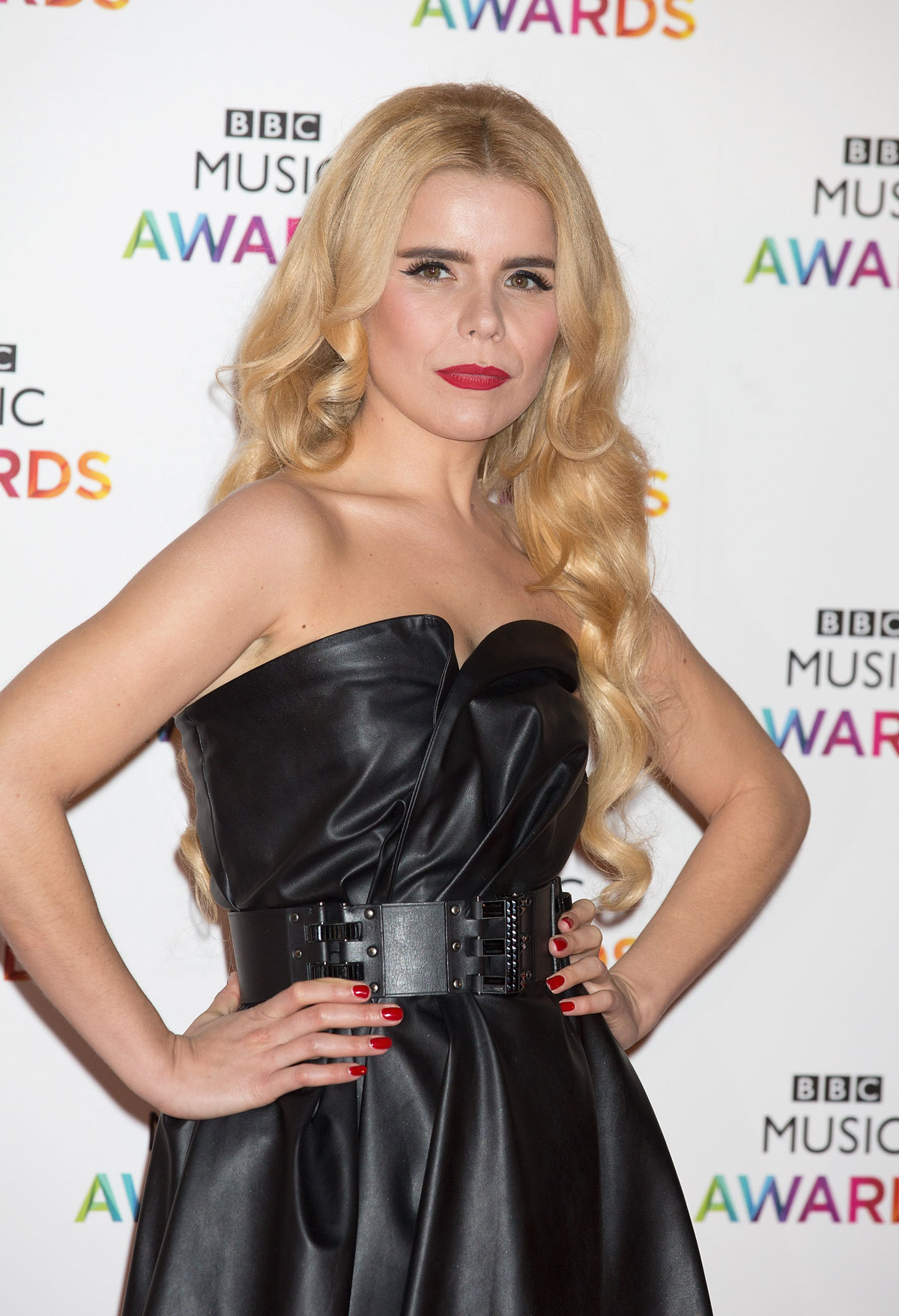 Paloma Faith attends BBC Music Awards at Earl's Court Exhibition Centre