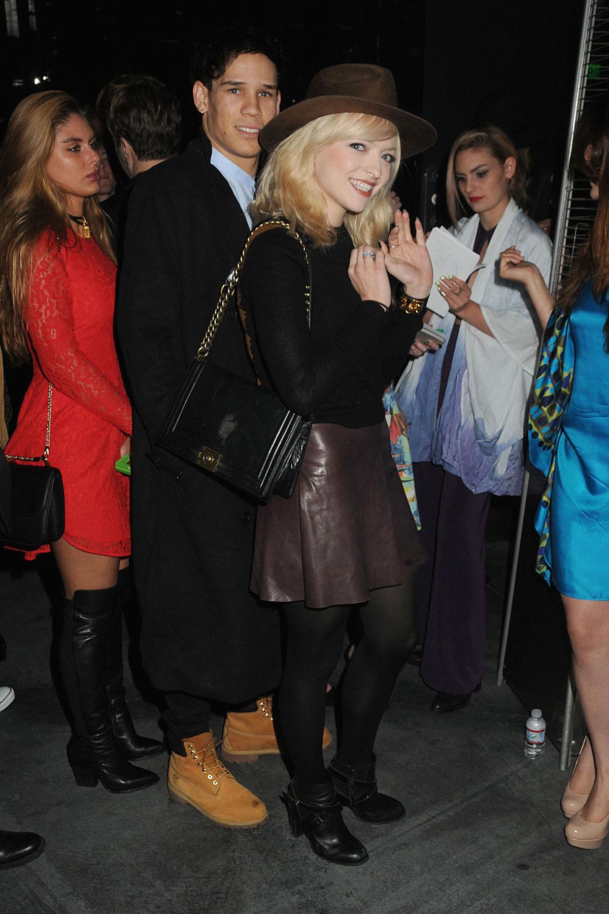 Francesca Eastwood attends Wayke Up Fundraiser