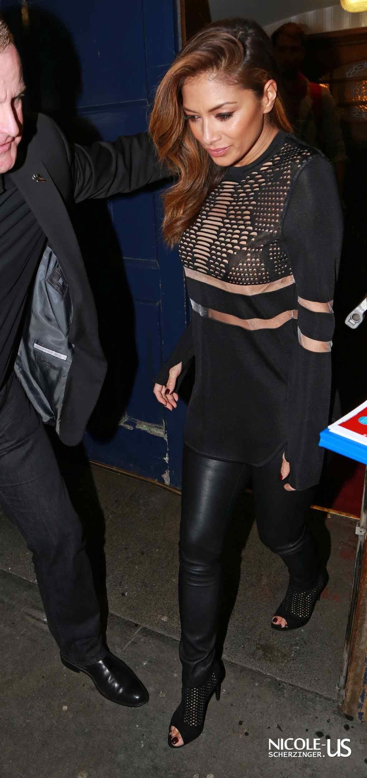 Nicole Scherzinger leaving Cats the musical