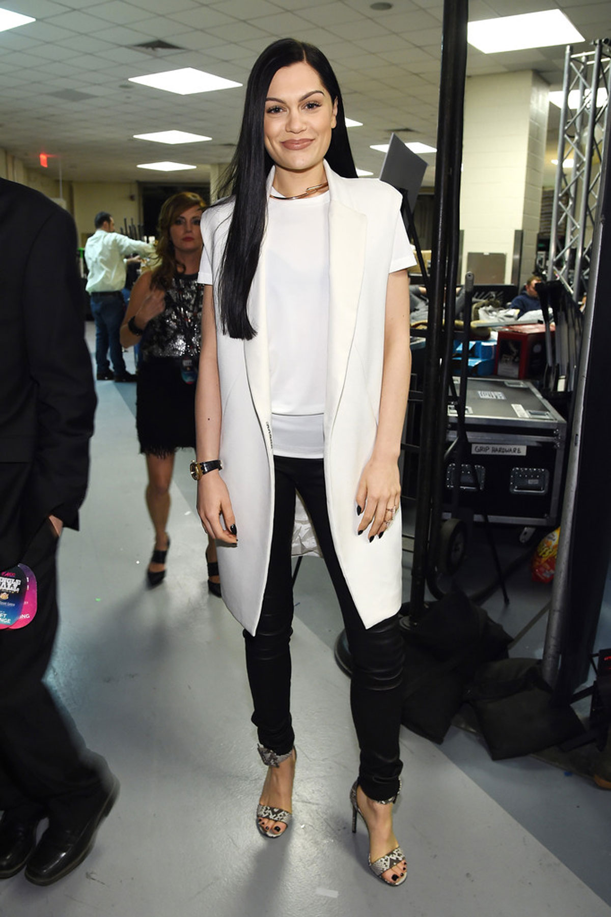 Jessie J attends Z100's Jingle Ball