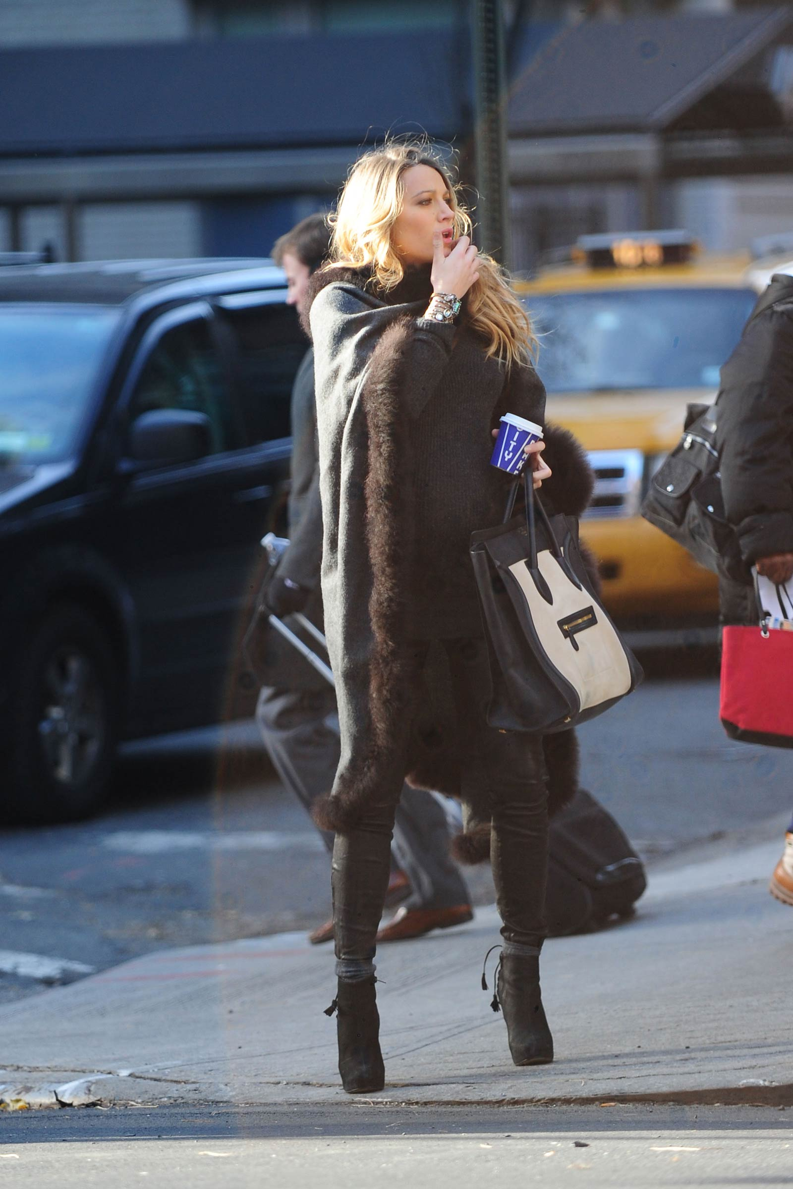 Blake Lively out in NY