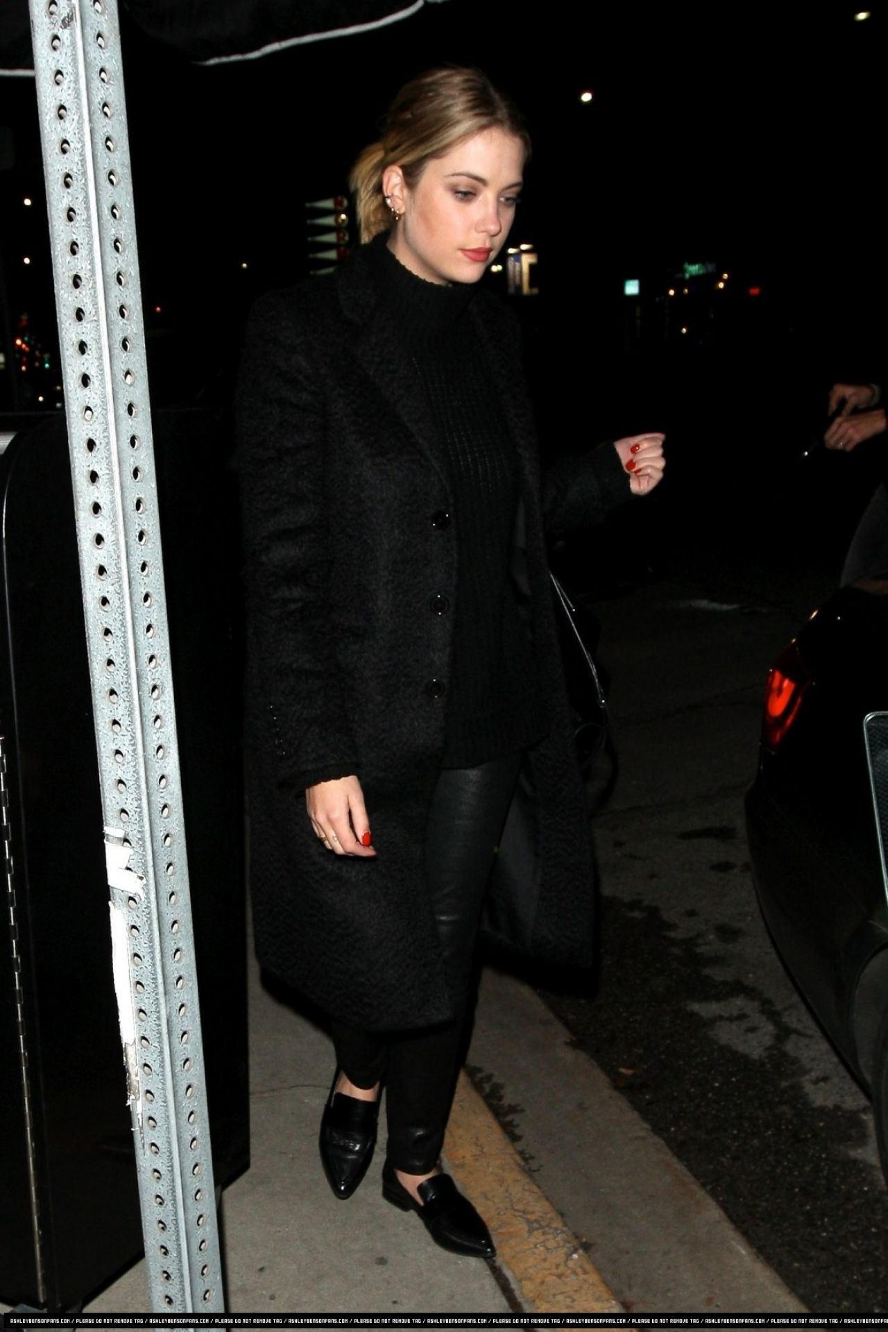 Ashley Benson leaving a nightclub in West Hollywood