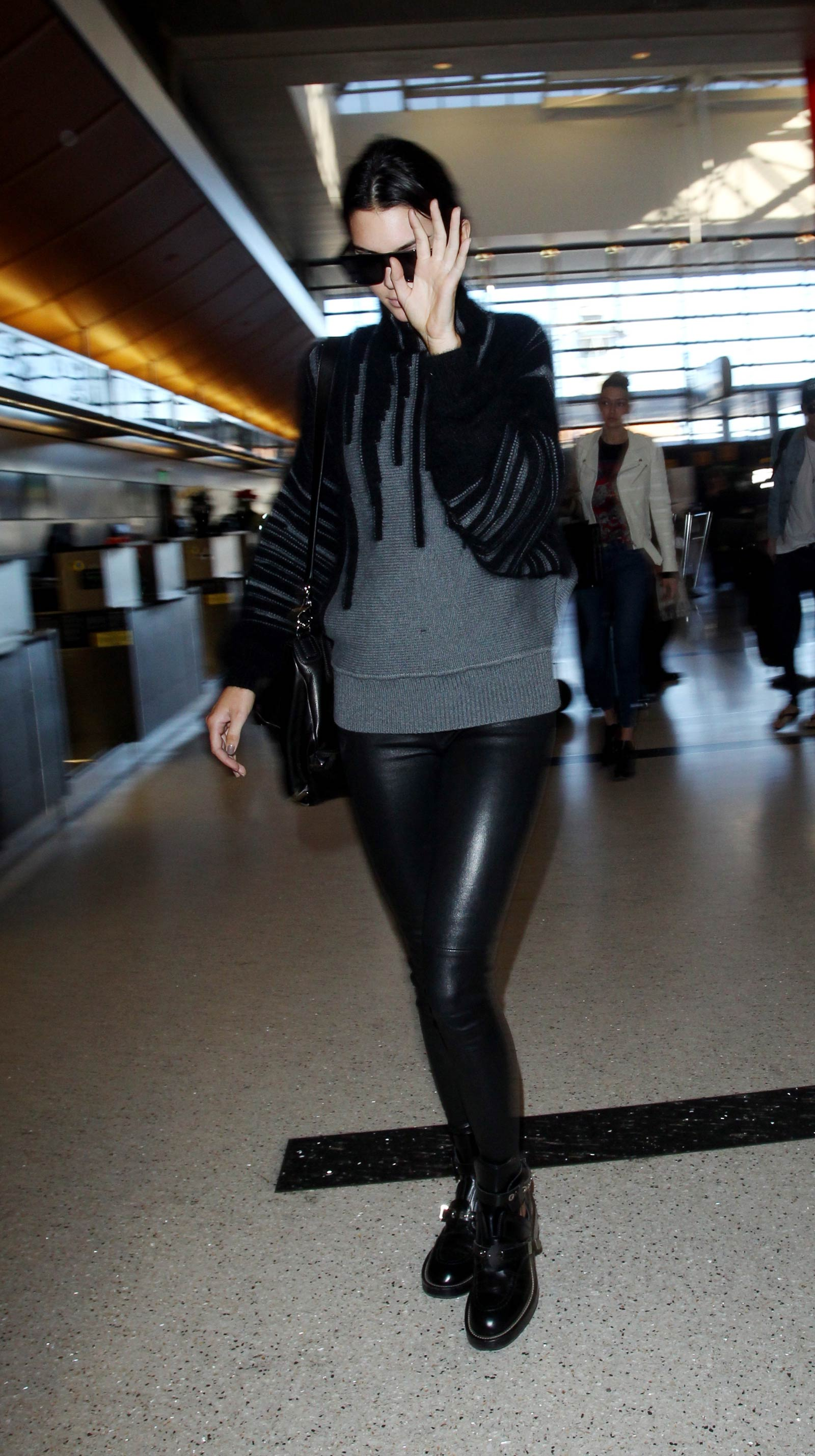 Kendall Jenner at LAX