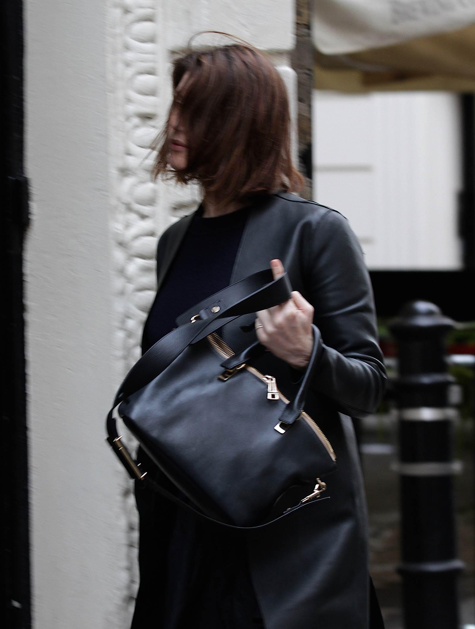 Gemma Arterton arrives at Adelphi Theatre