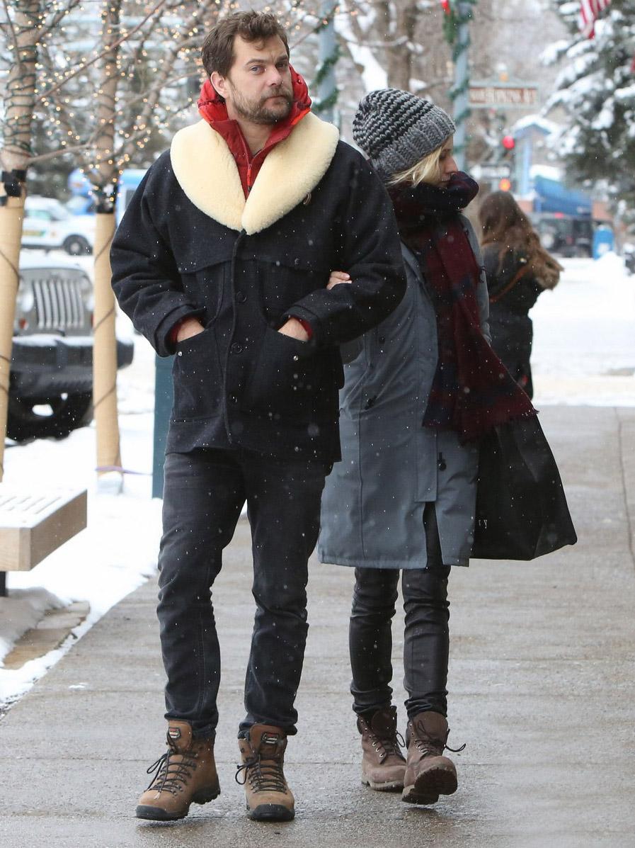 Diane Kruger strolls in Aspen