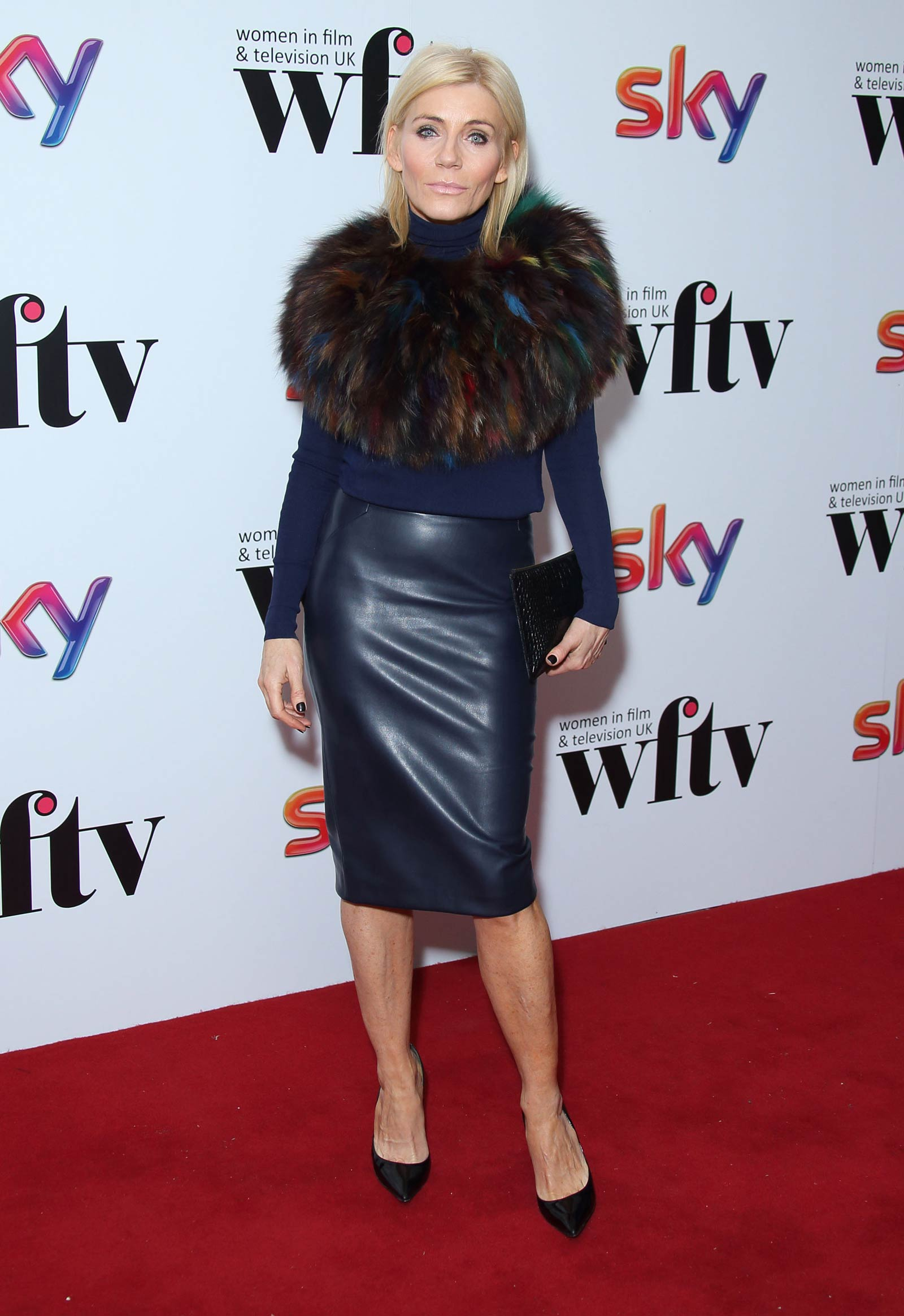 Michelle Collins attends Sky Women in Film & TV Awards