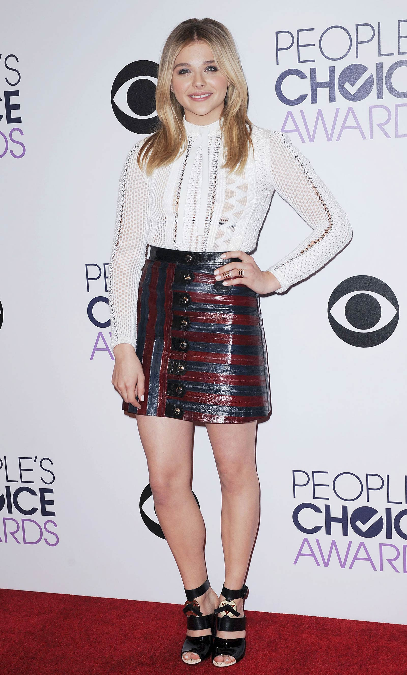Chloe Moretz attends 2015 People's Choice Awards