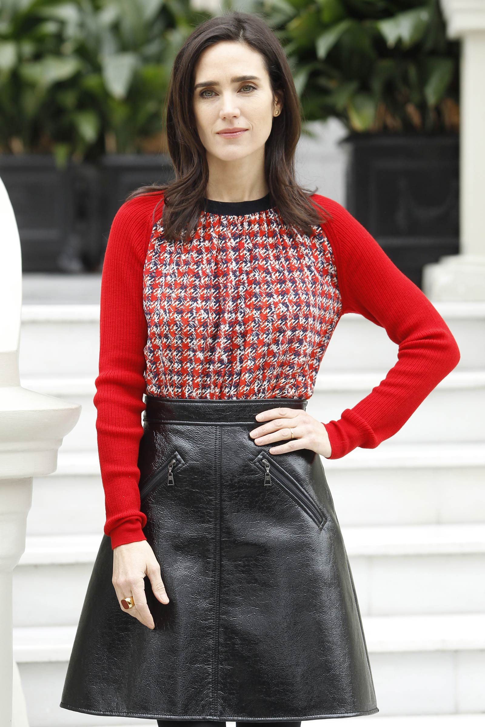 Jennifer Connelly attends Aloft photocall in Madrid
