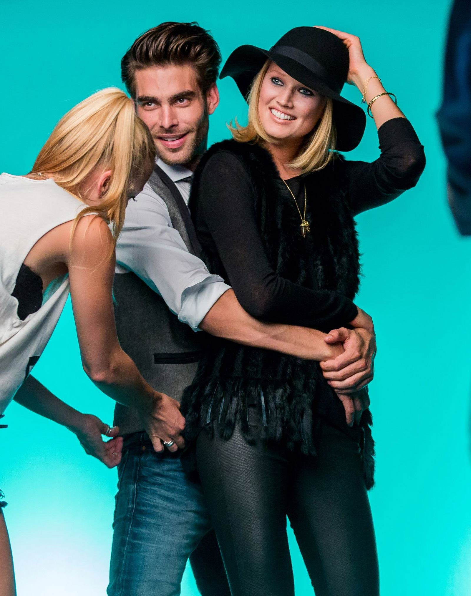 Toni Garrn photoshoot for PKZ Men & Women