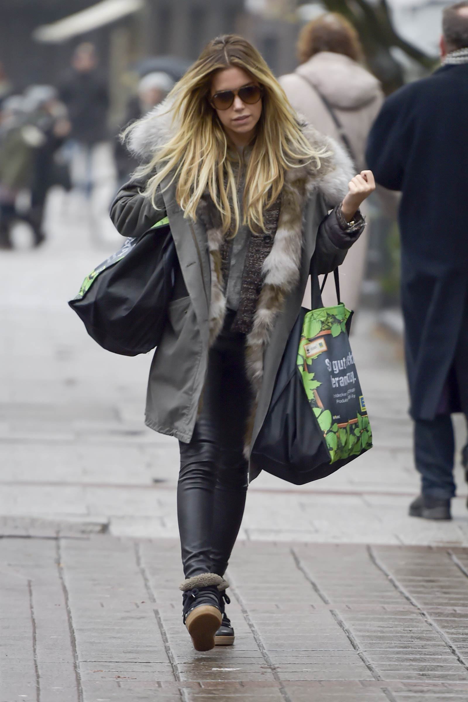 Sylvie Meis out and about in Hamburg