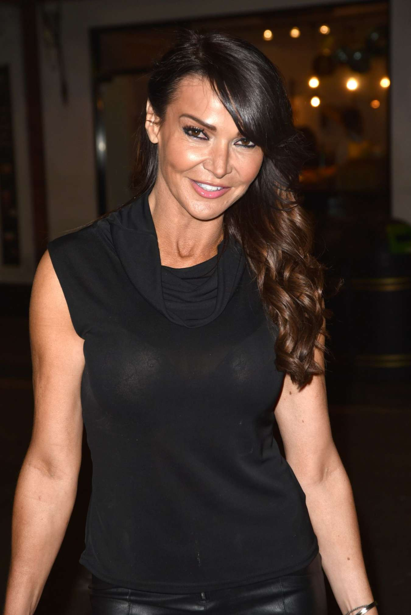 Lizzie Cundy at The House of Ho 1st Birthday Party