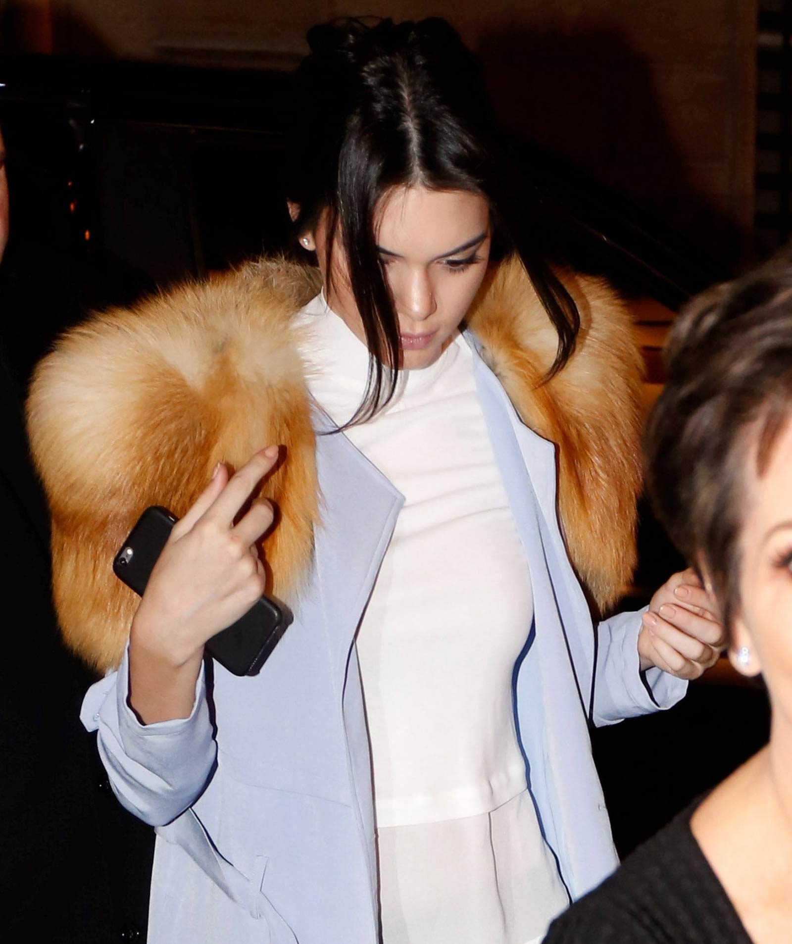 Kendall & Kris Jenner out and about in Paris