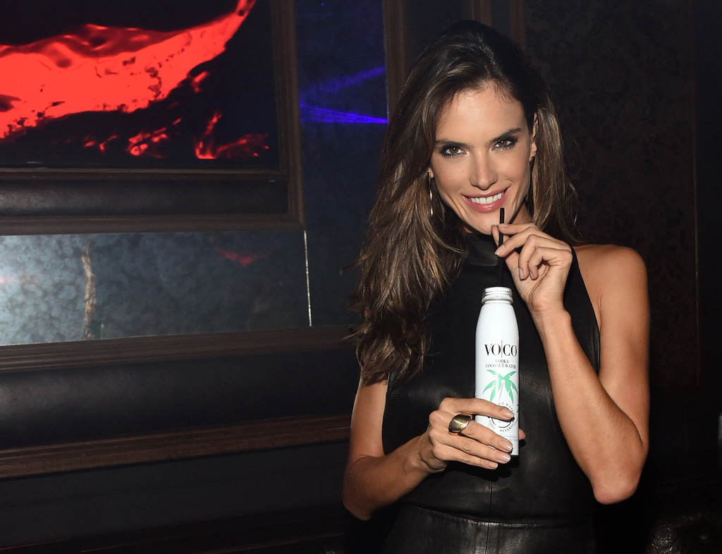Alessandra Ambrosio hosts the VO|CO Vodka Coconut Water party
