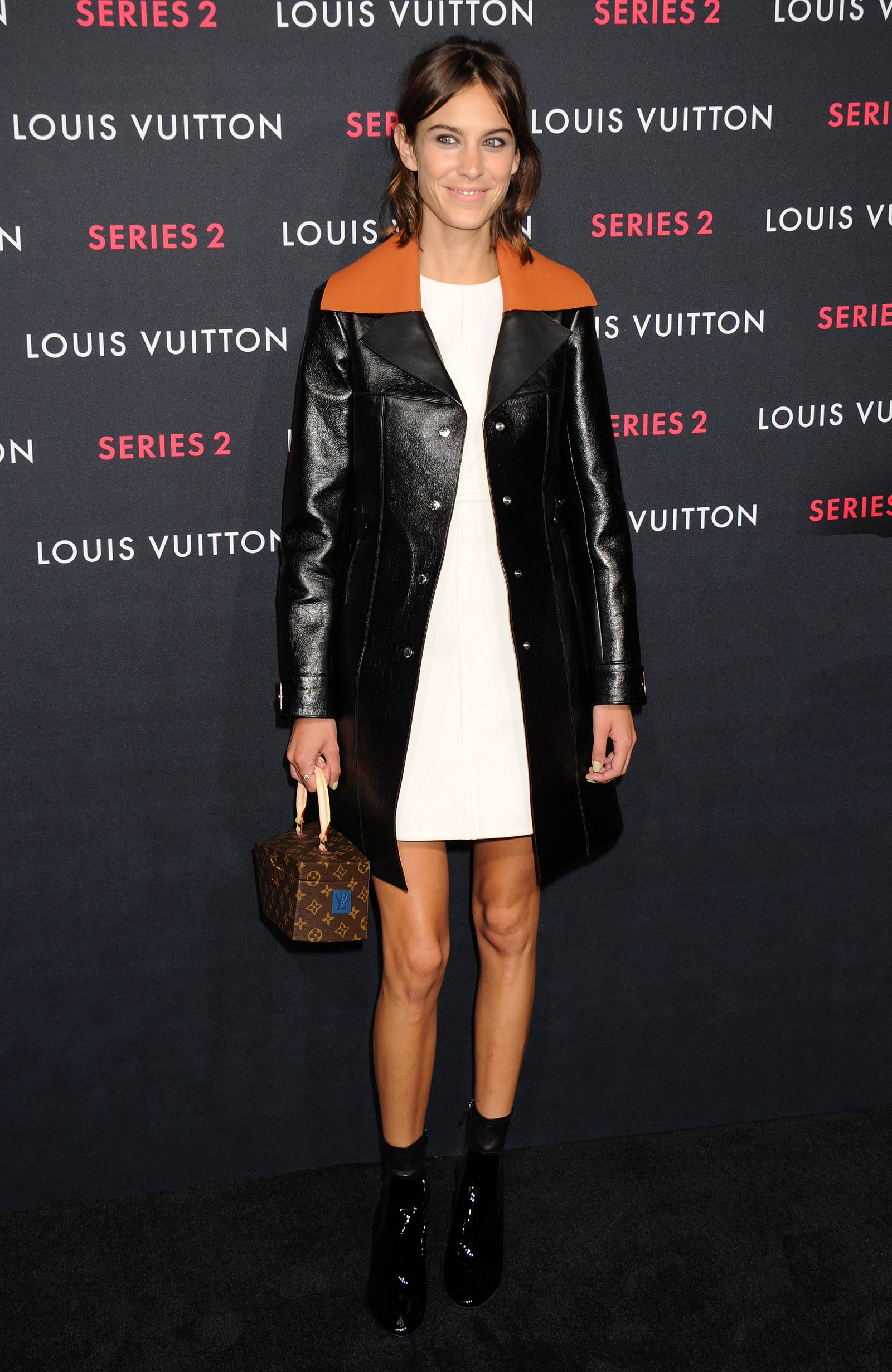 Alexa Chung attends Louis Vuitton Series 2 The Exhibition