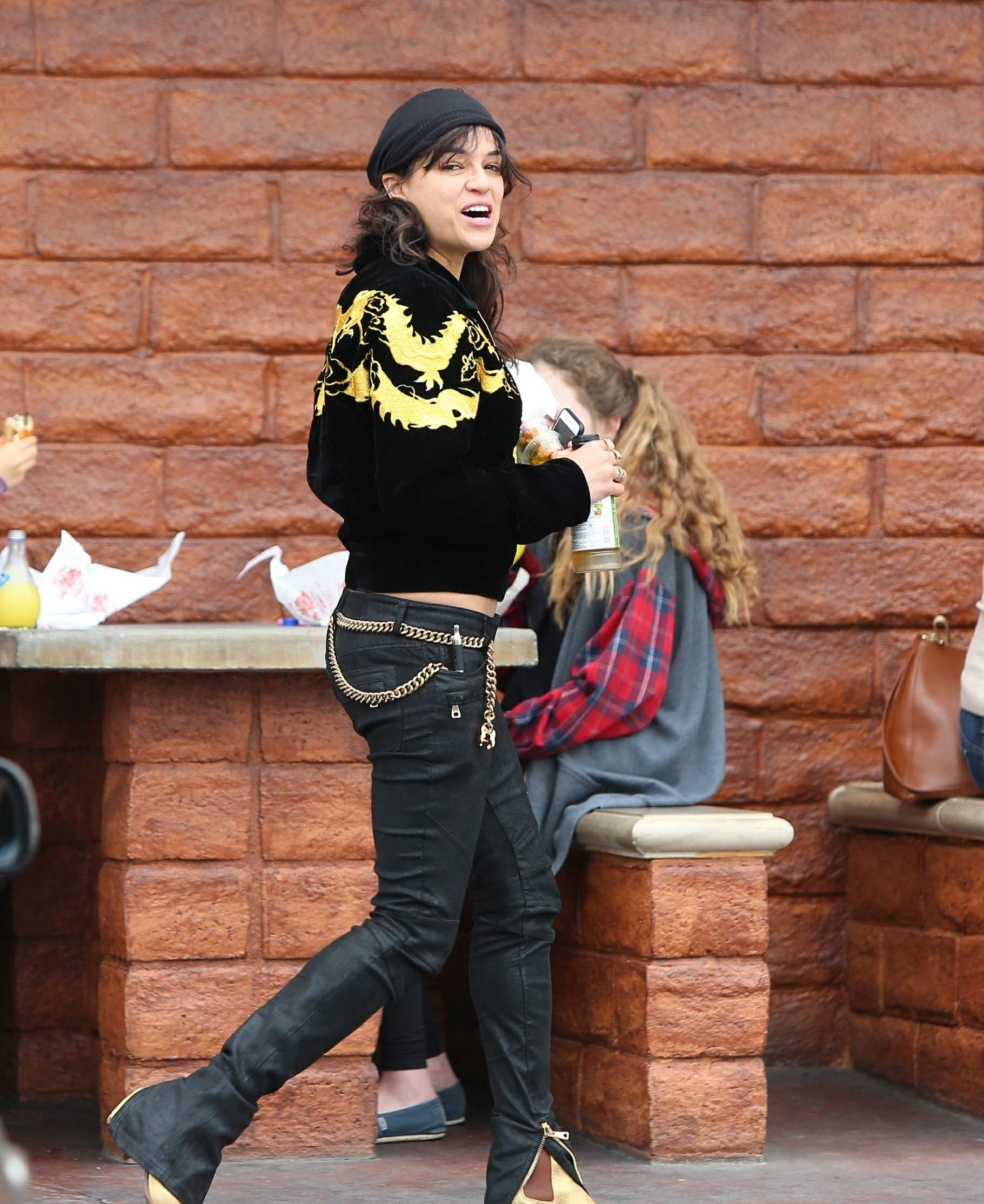 Michelle Rodriguez spotted out in Beverly Hills