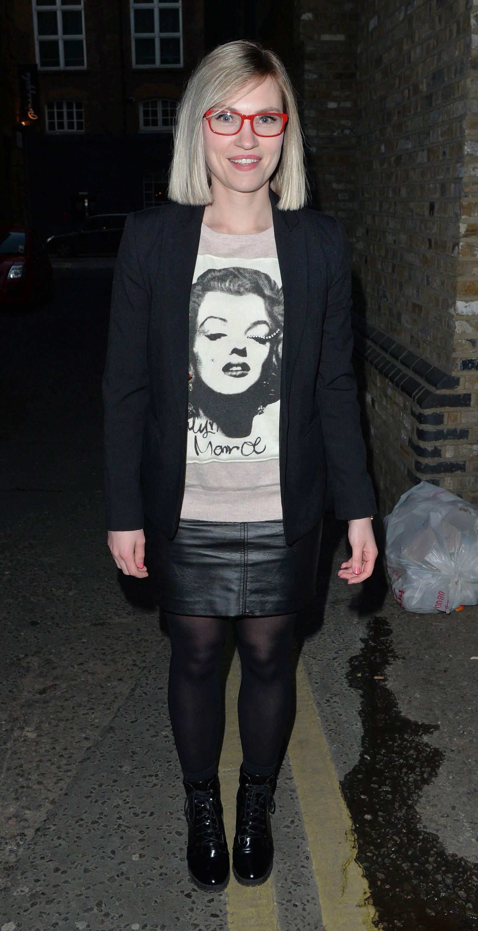 Jemma Bird attends Burlesque Audition