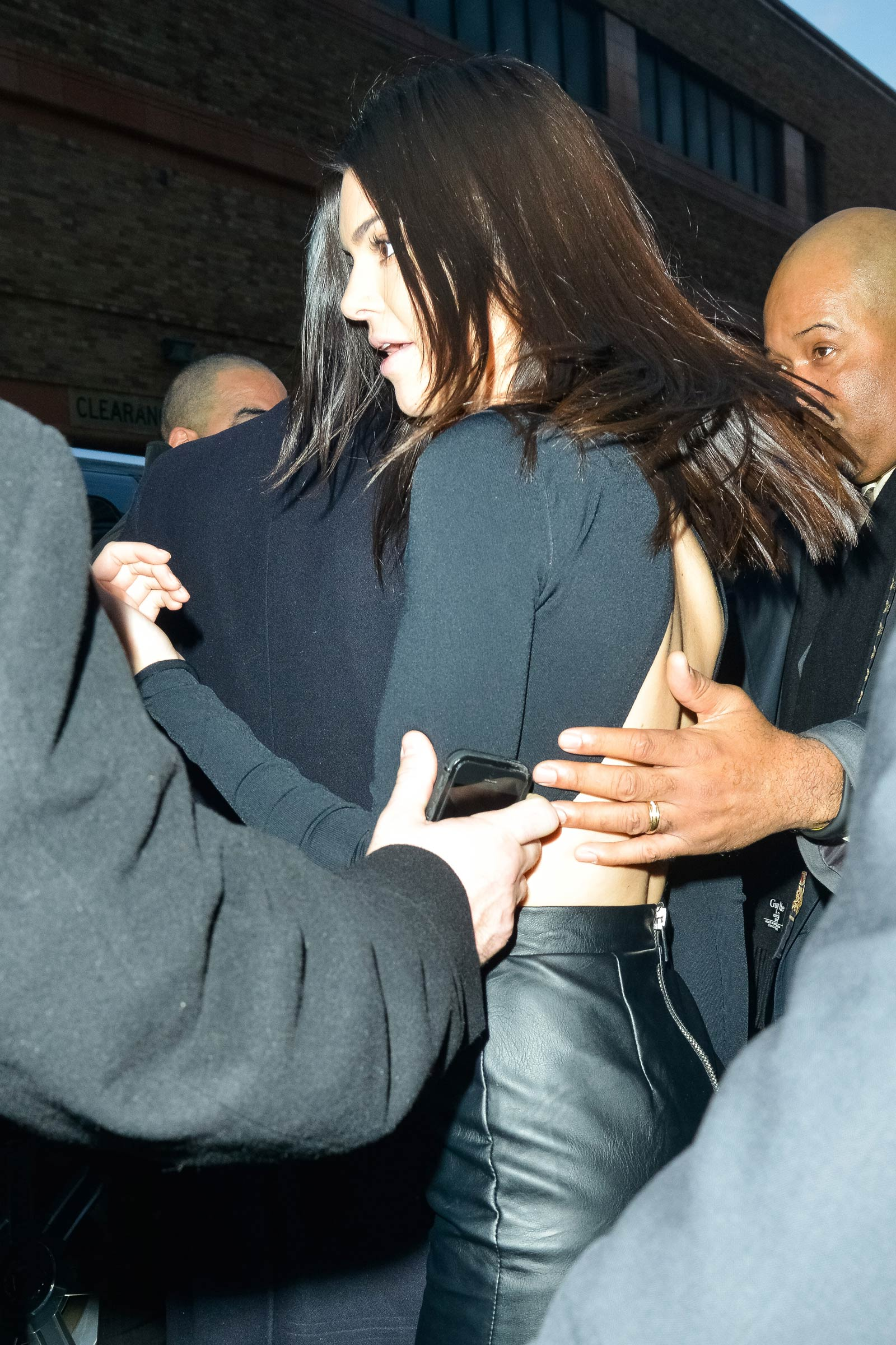 Kendall Jenner at the adidas Originals x Kanye West Yeezy