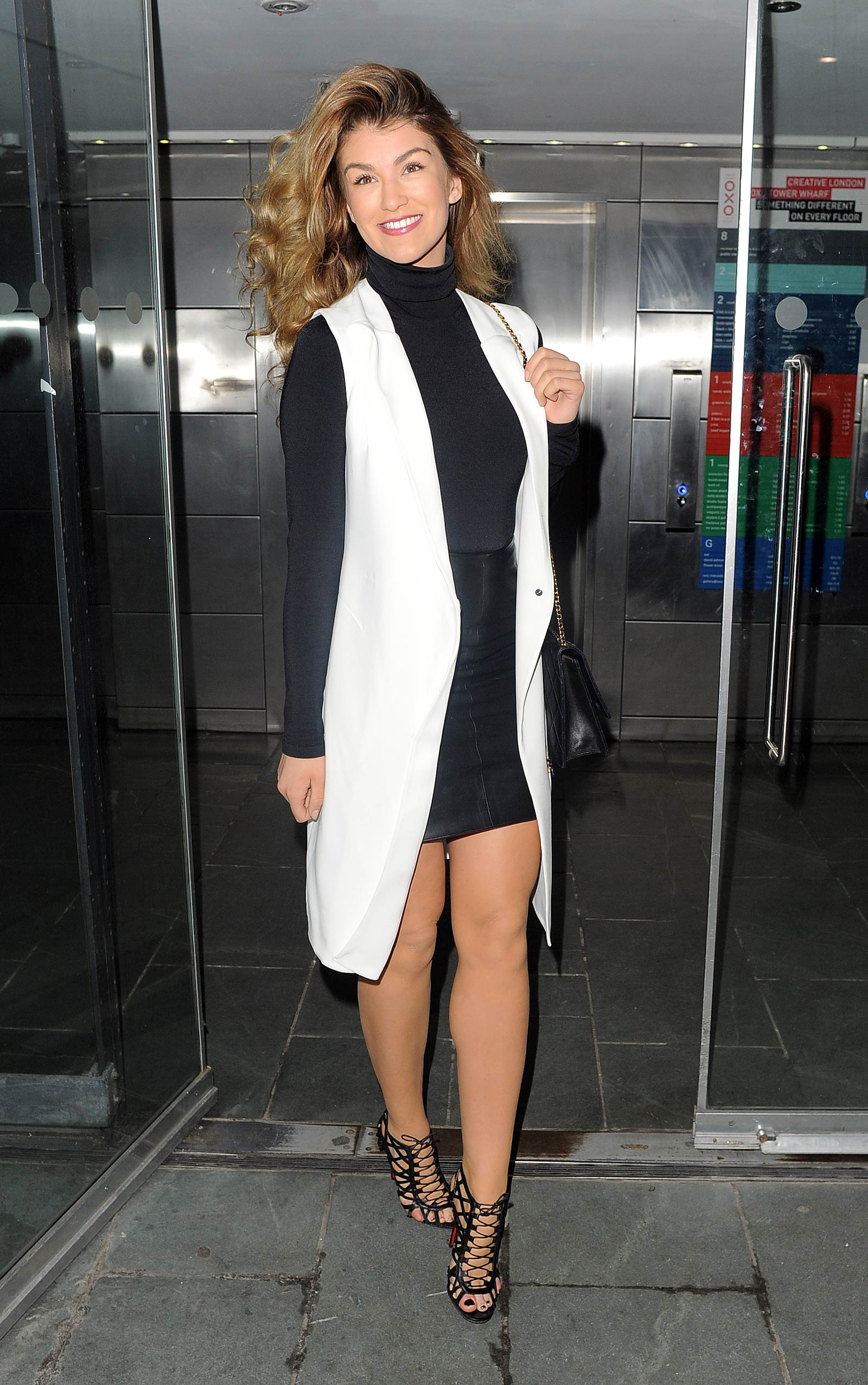 Amy Willerton attends John Frieda launch party