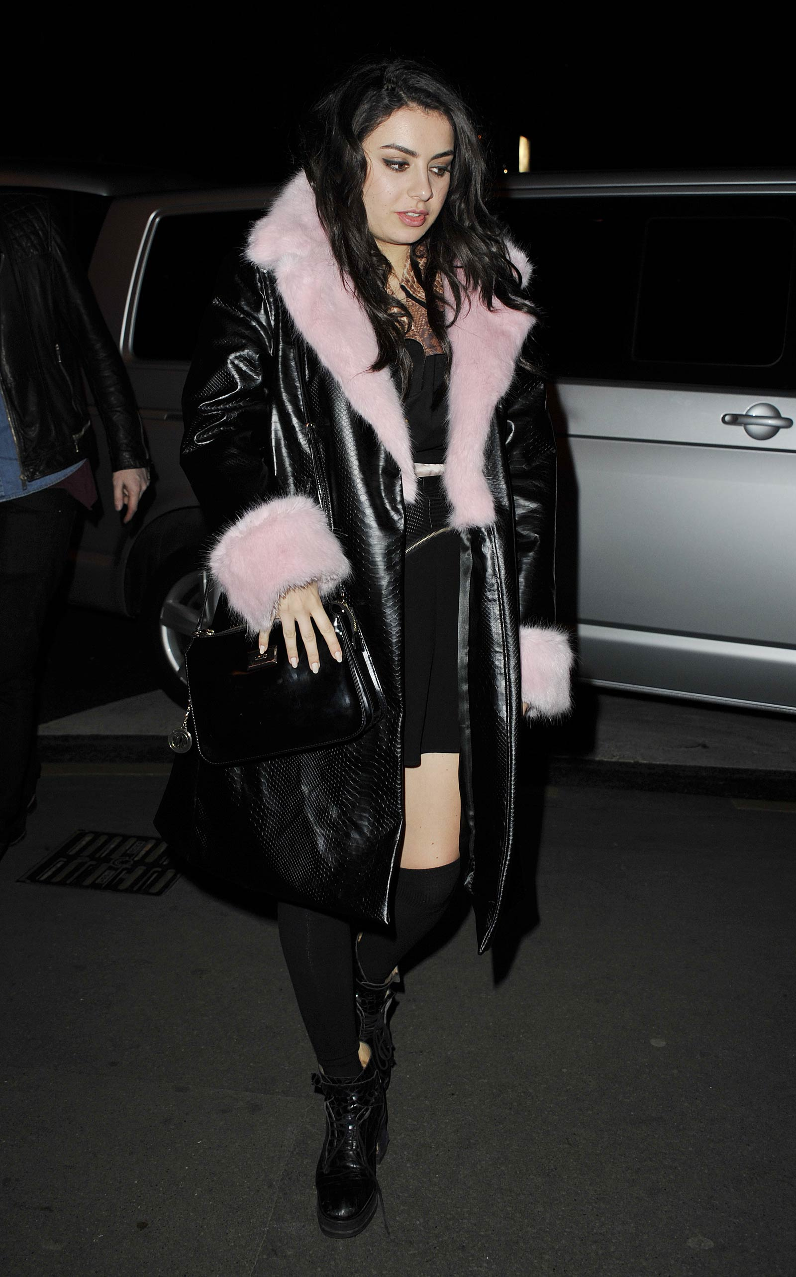 Charli XCX out and about in Paris