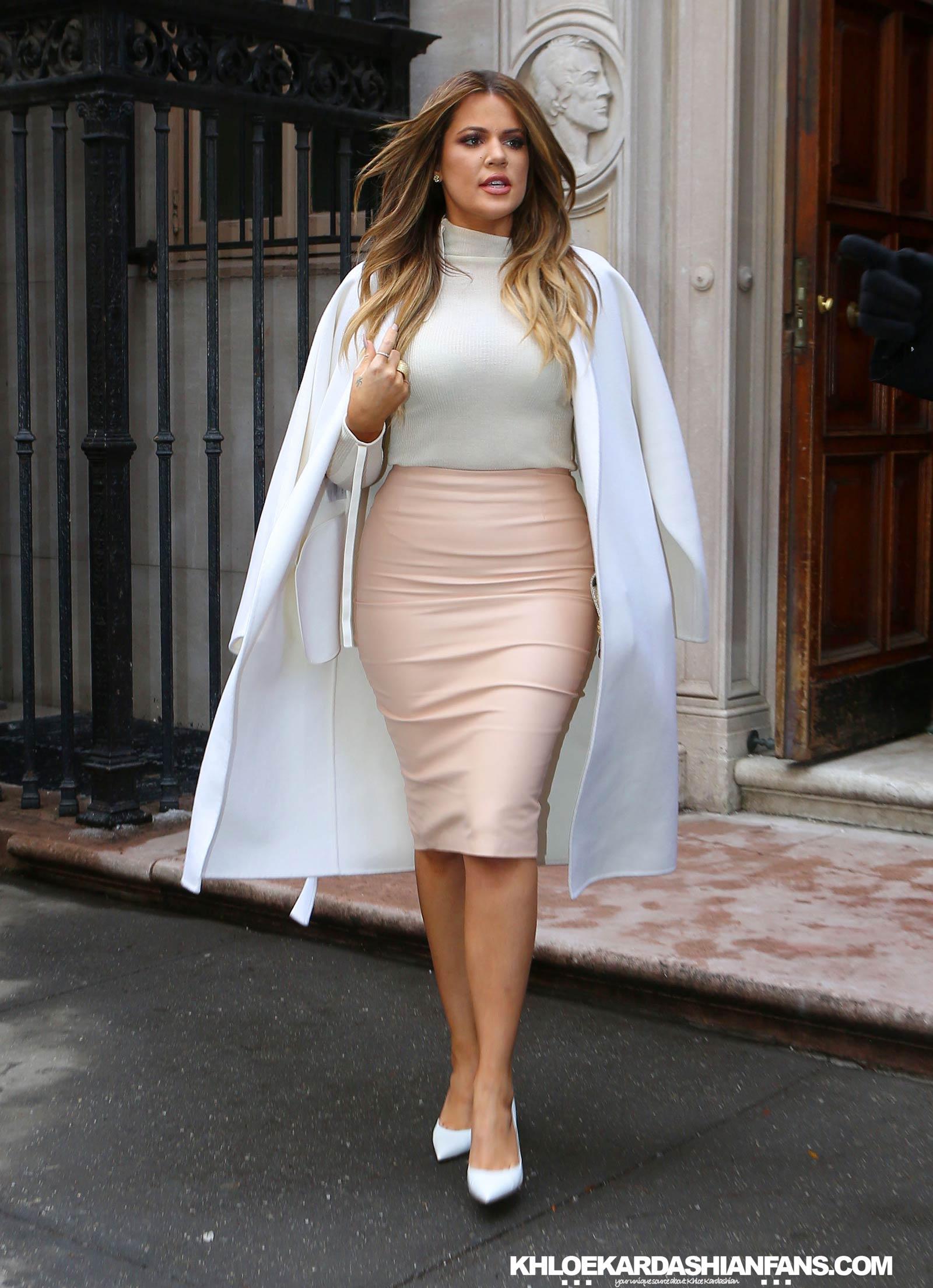 Khloe Kardashian attends Launch Of Kardashian Beauty