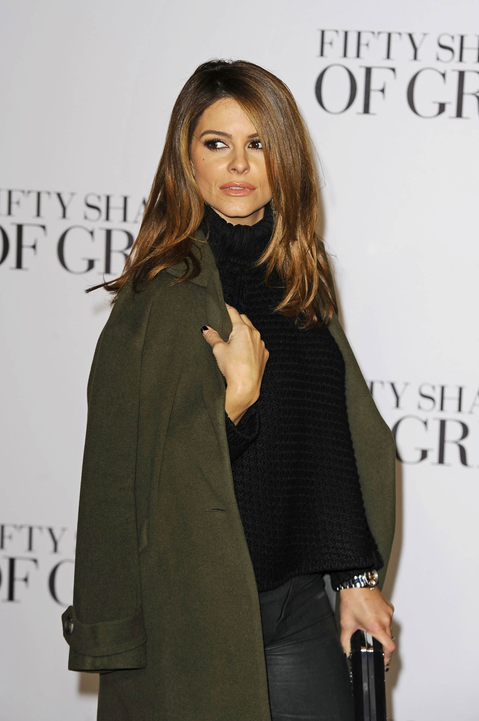 Maria Menounos attends Fifty Shades Of Grey Premiere