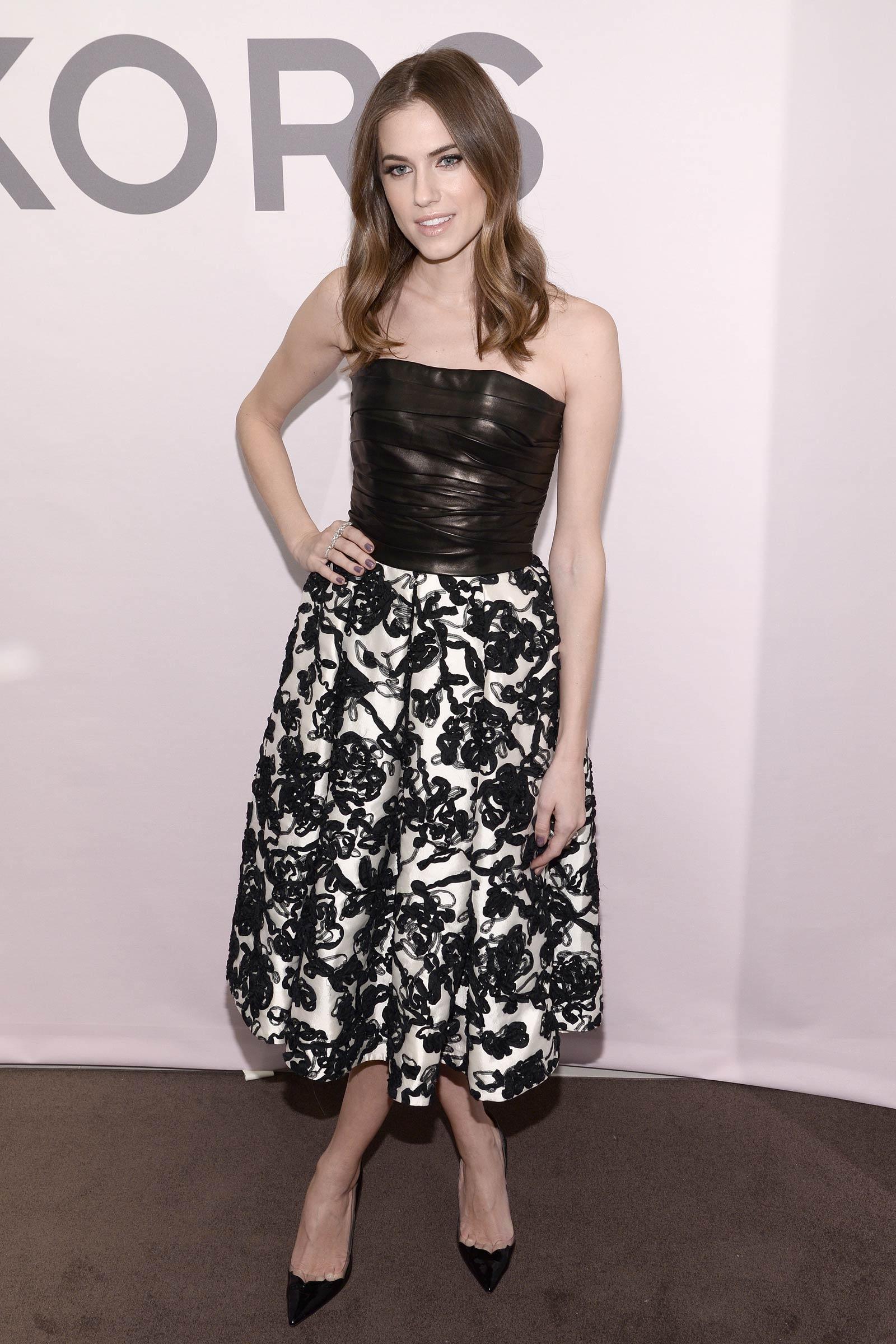 Allison Williams attends Michael Kors Miranda Eyewear Collection Launch