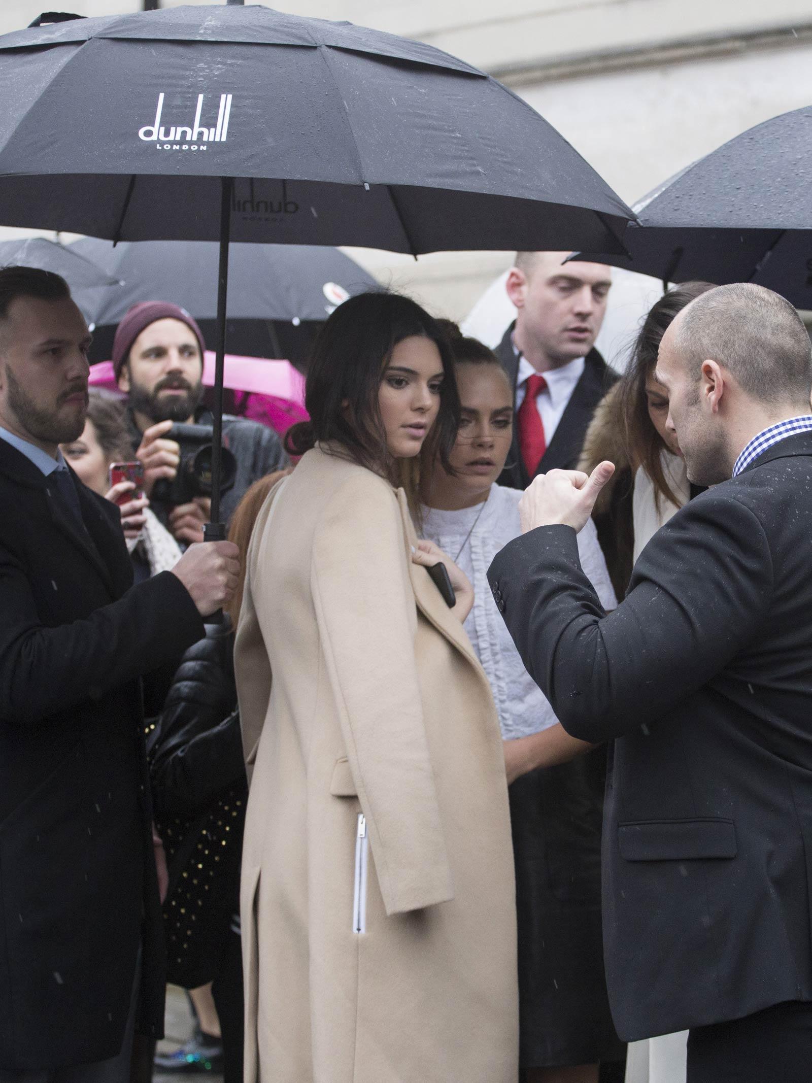 Cara Delevingne attends Topshop Unique Fashion Show