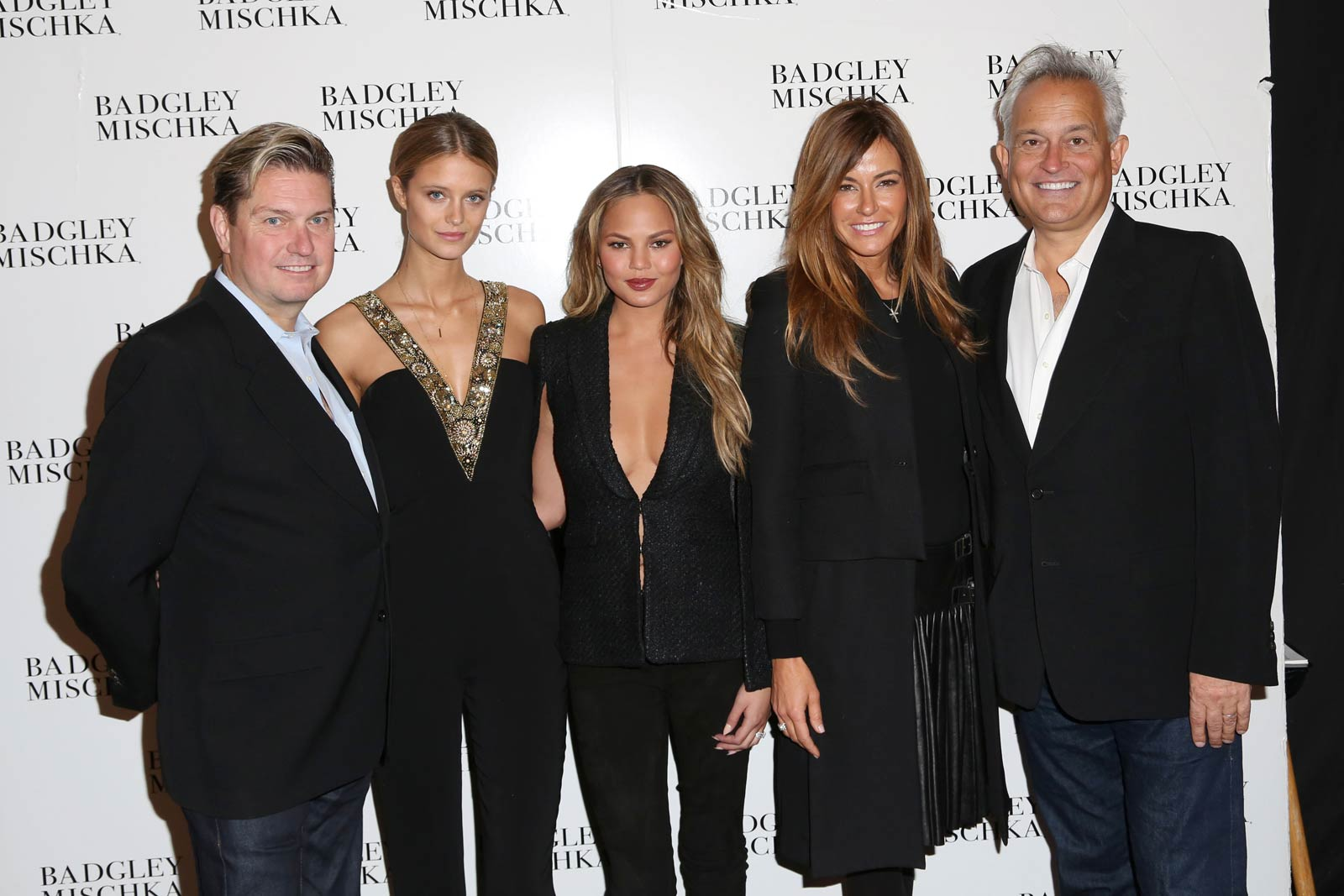 Kelly Killoren Bensimon attends Badgley Mischka show