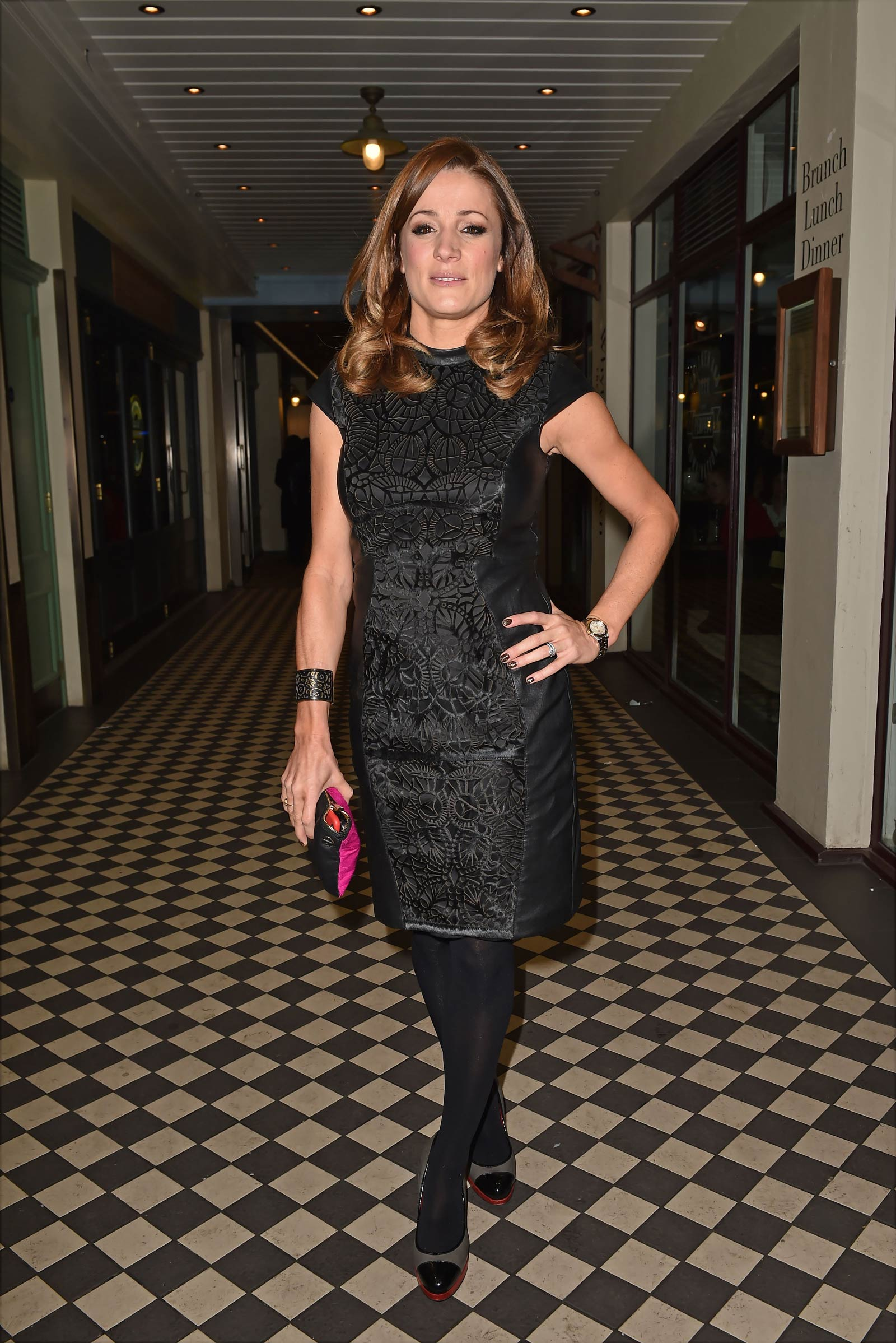 Natalie Pinkham attends Cahoots London Club Launch Party