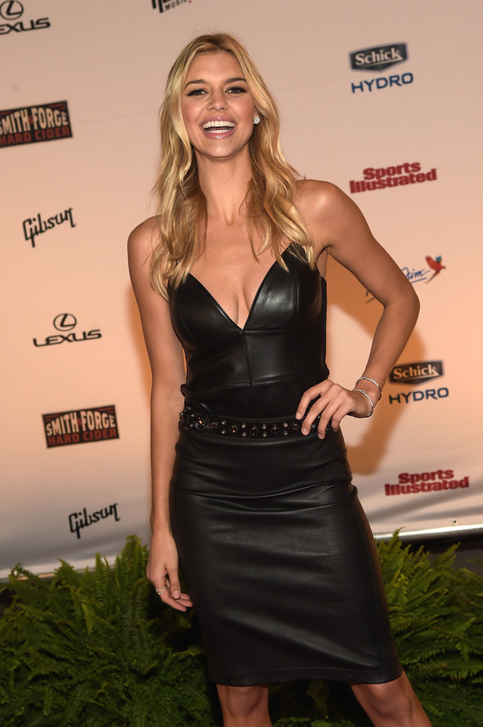 Kelly Rohrback attends the Sports Illustrated 2015 Swimsuit event